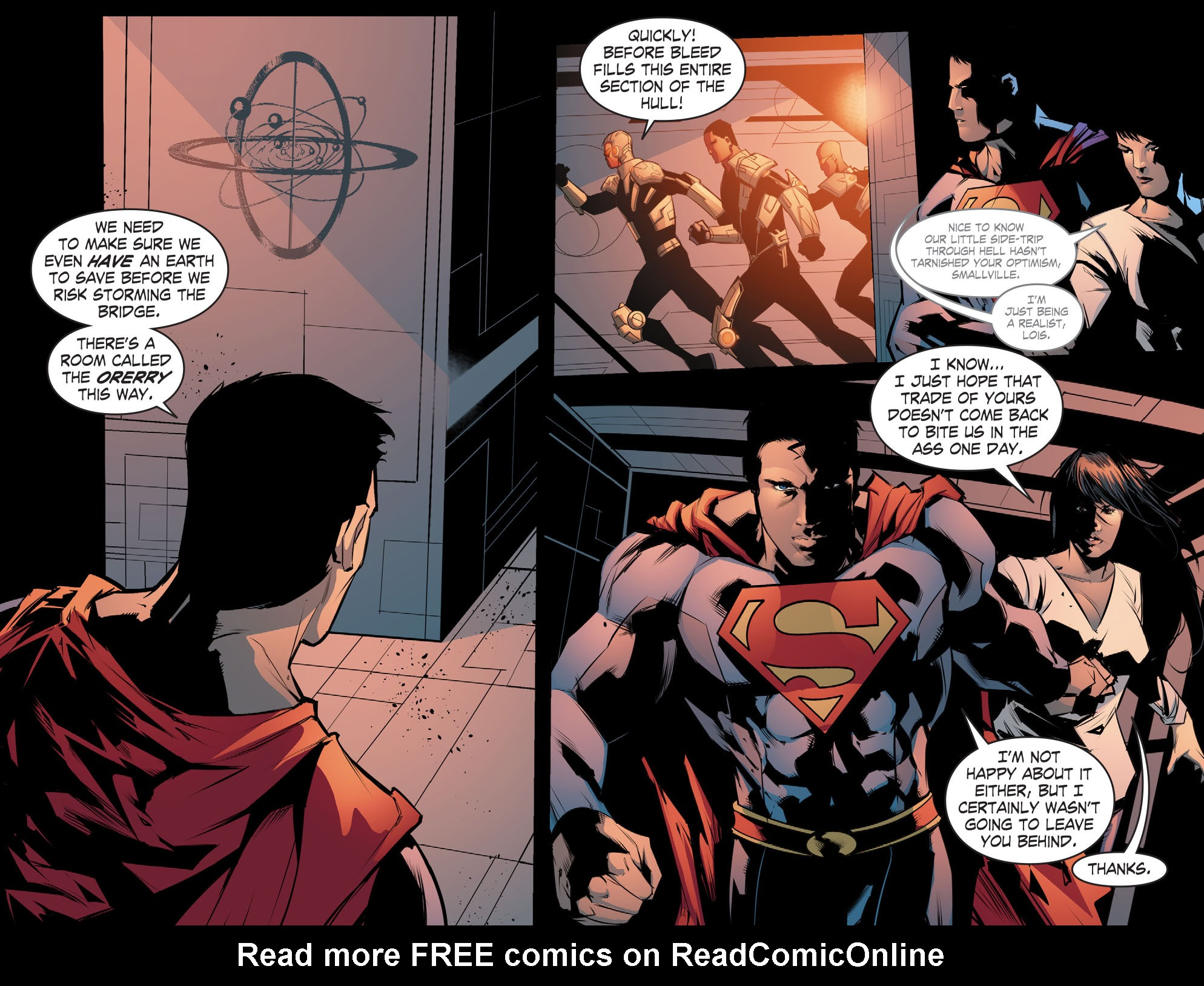 Read online Smallville: Chaos [II] comic -  Issue #8 - 20