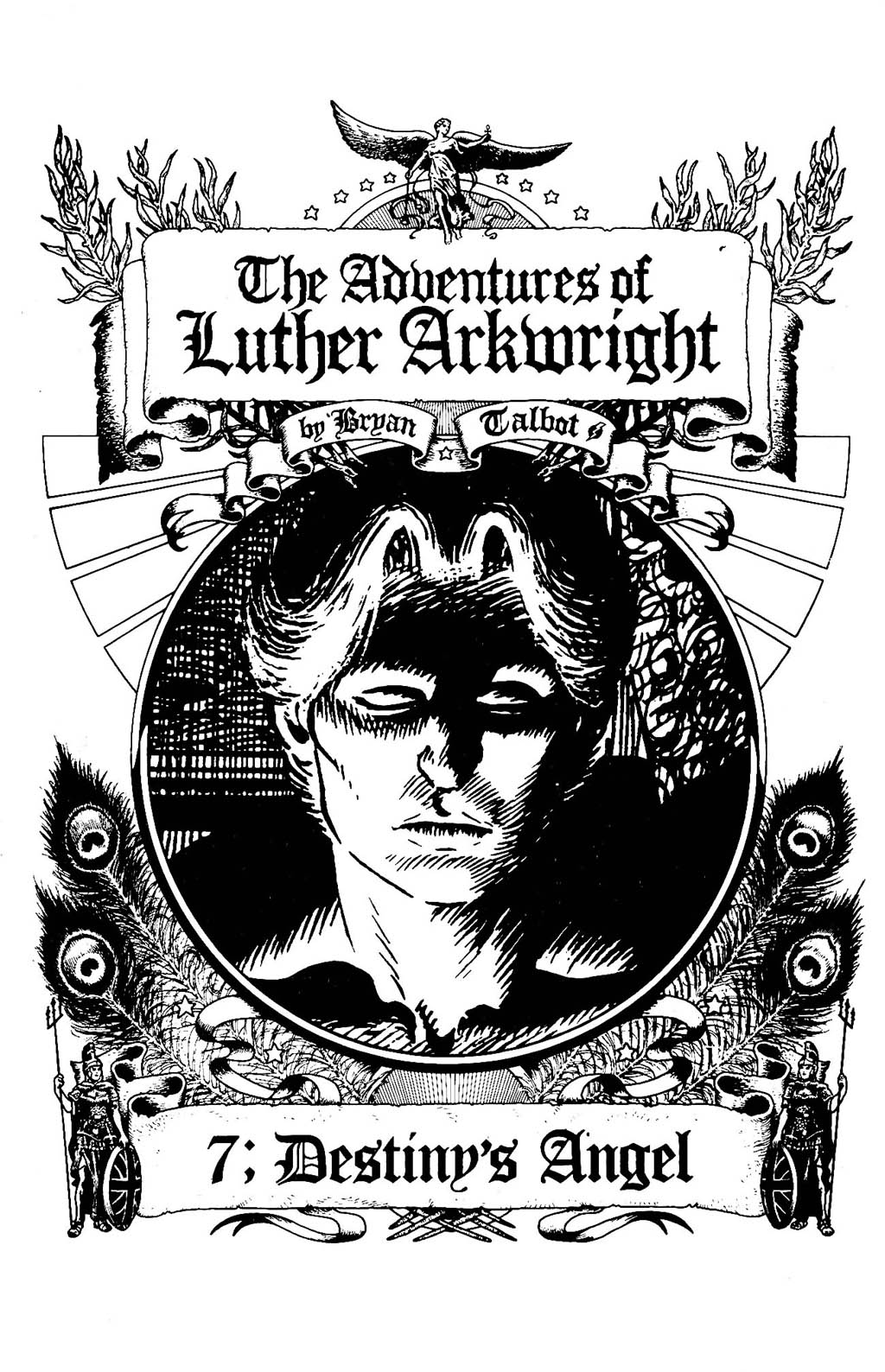 Read online The Adventures of Luther Arkwright comic -  Issue #7 - 3