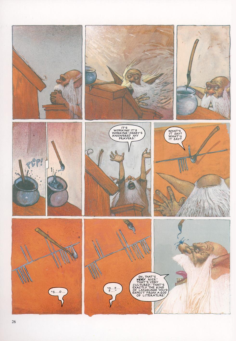 Read online Slaine: The Horned God (1993) comic -  Issue #4 - 27
