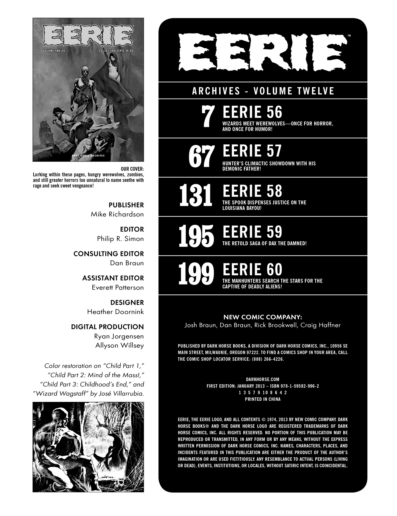 Read online Eerie Archives comic -  Issue # TPB 12 - 4
