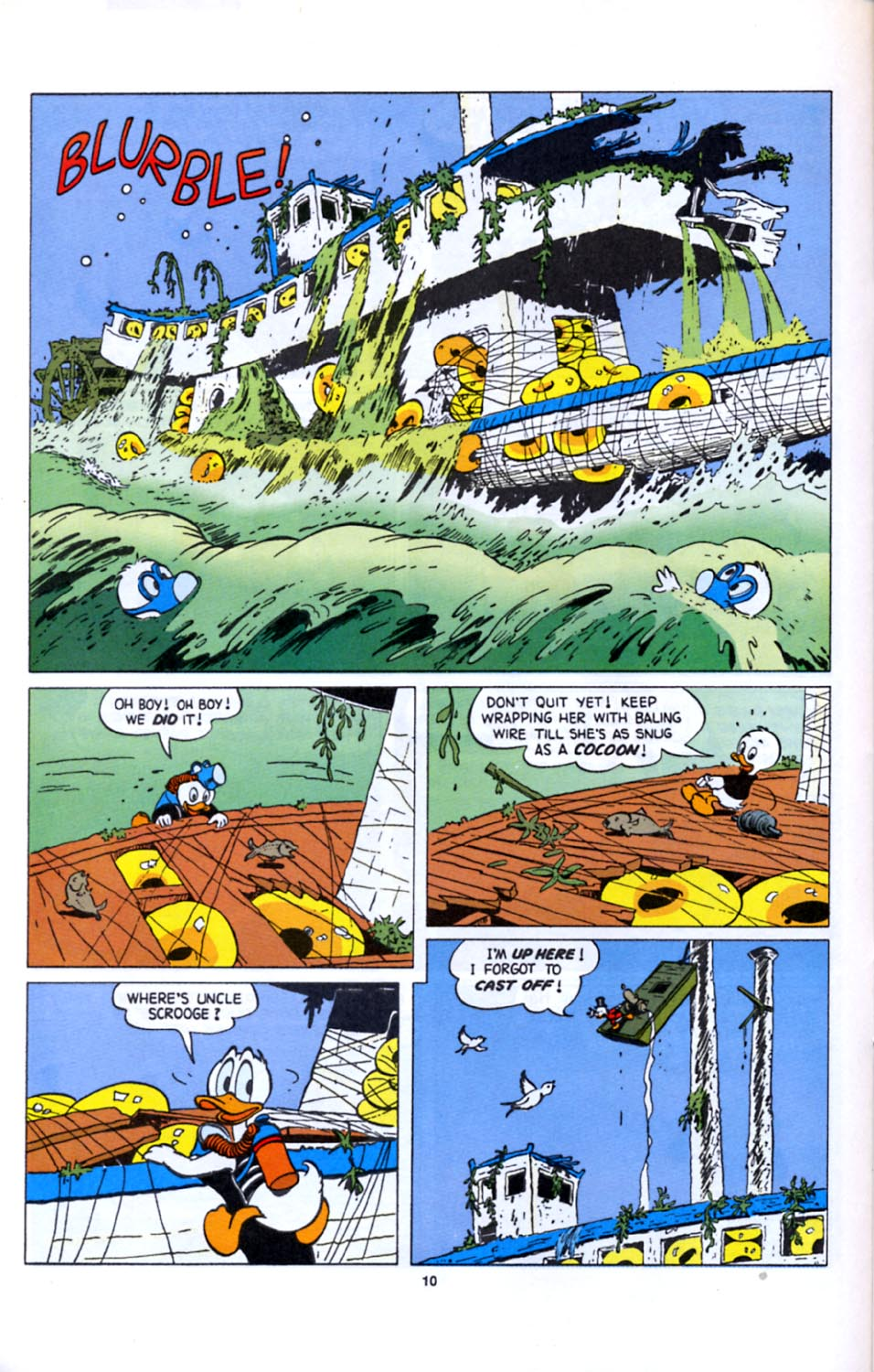 Read online Uncle Scrooge (1953) comic -  Issue #277 - 11