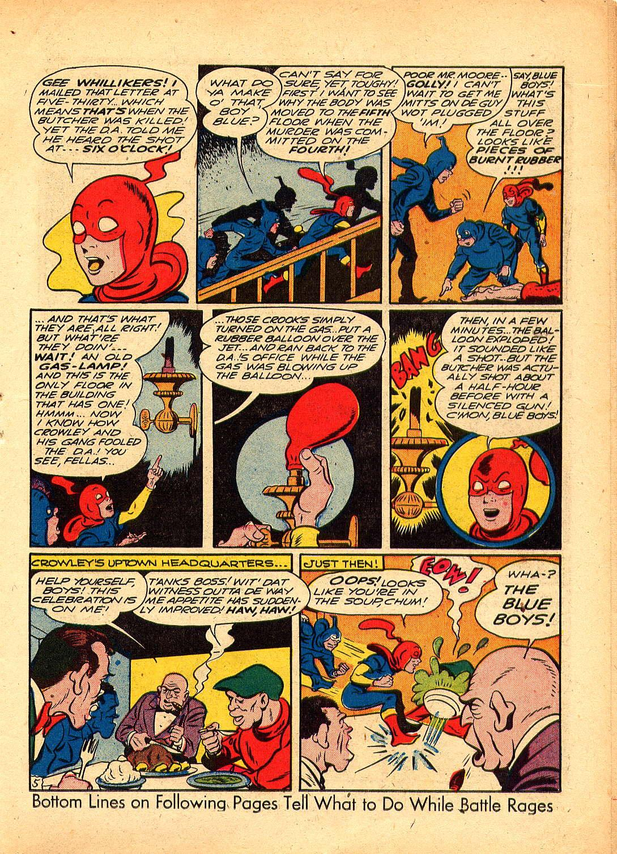 Read online Sensation (Mystery) Comics comic -  Issue #30 - 29