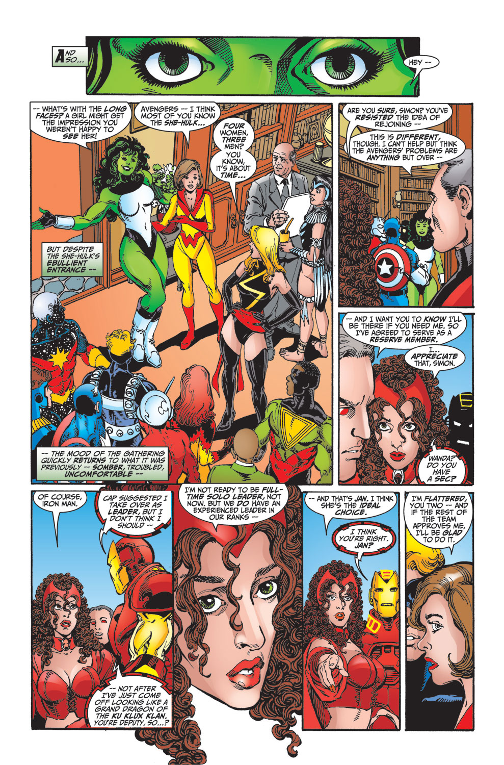 Read online Avengers (1998) comic -  Issue #27 - 21