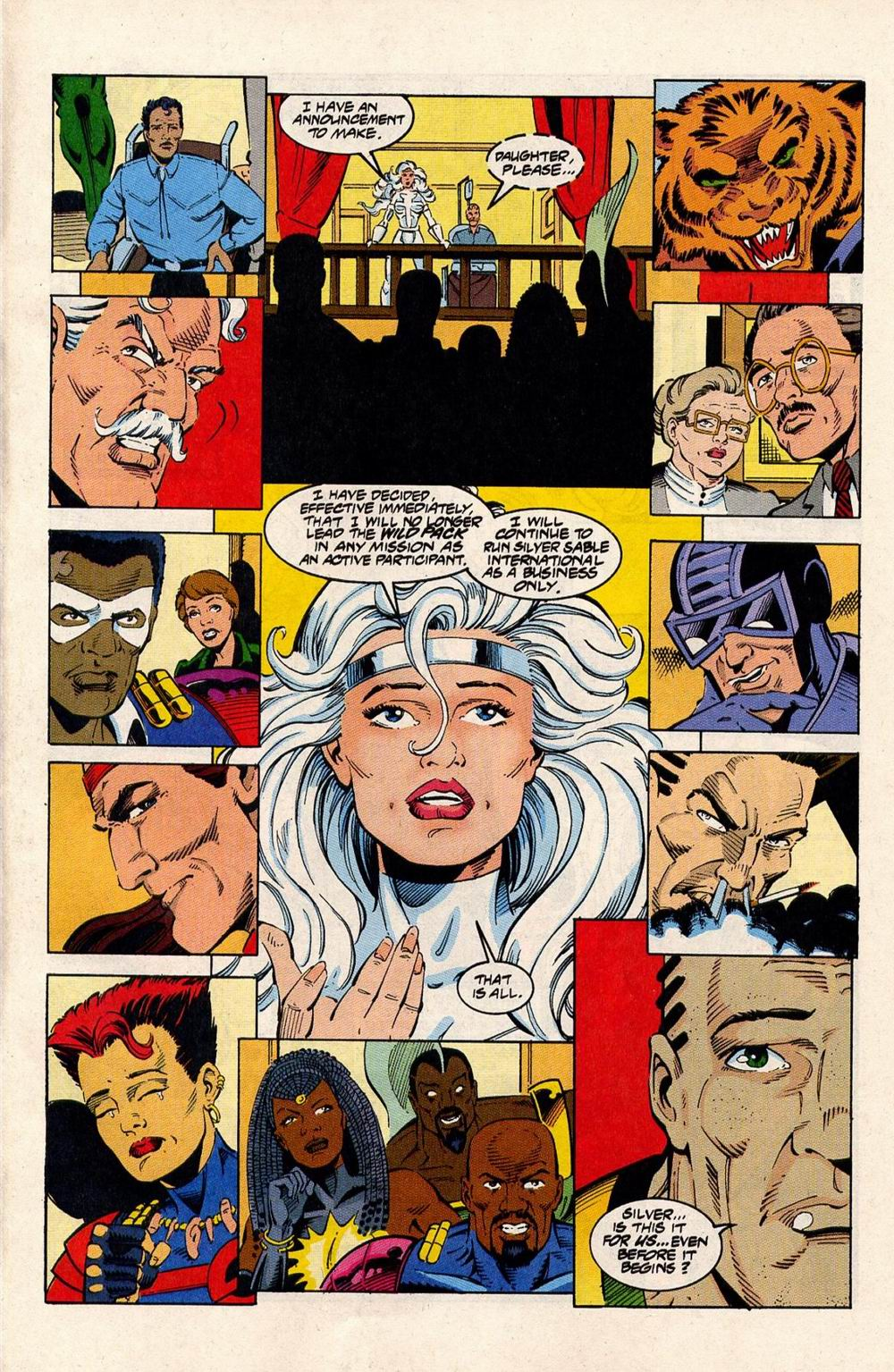 Read online Silver Sable and the Wild Pack comic -  Issue #33 - 22