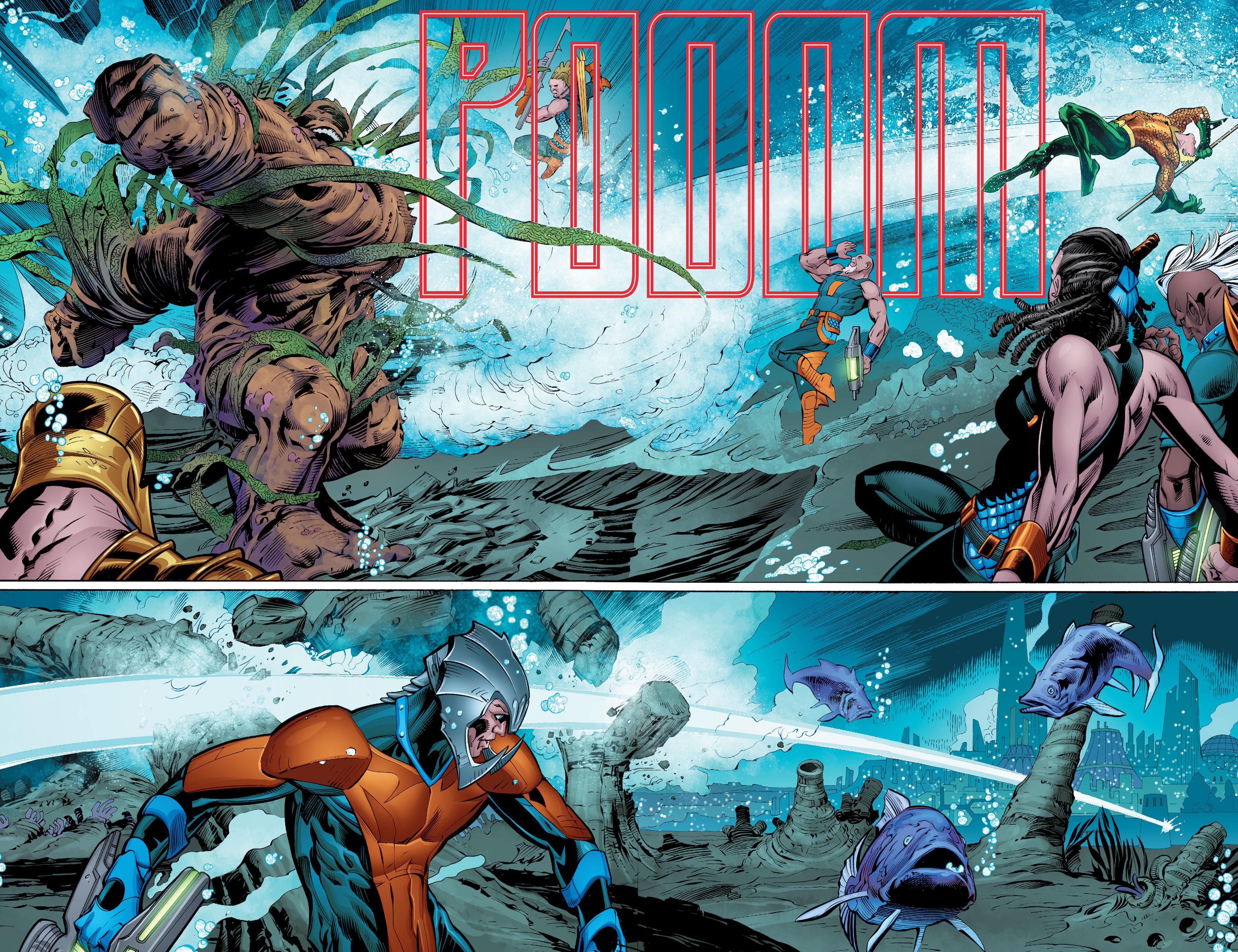 Read online Aquaman (2016) comic -  Issue #8 - 9
