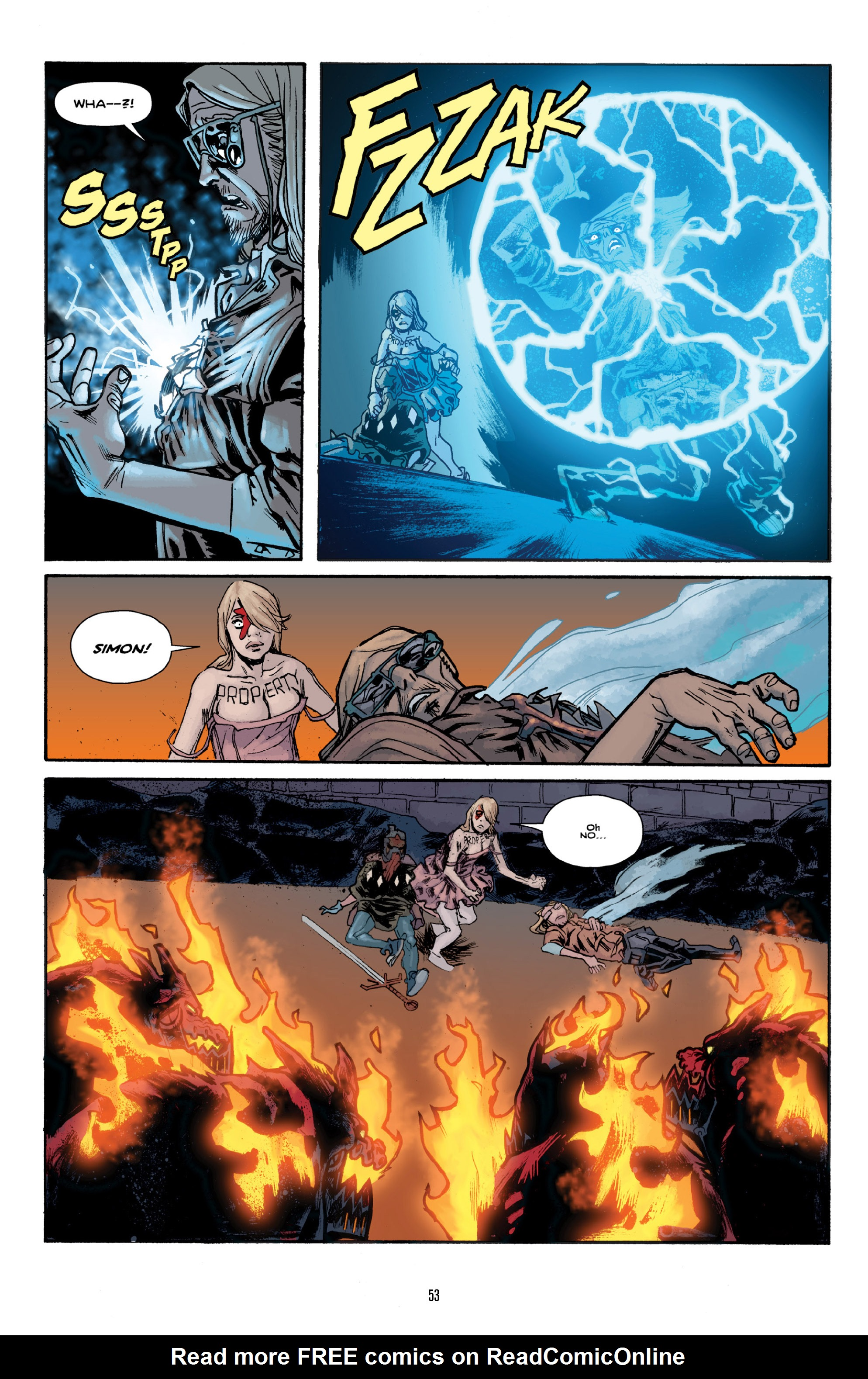 Read online Orchid comic -  Issue # TPB 3 - 52