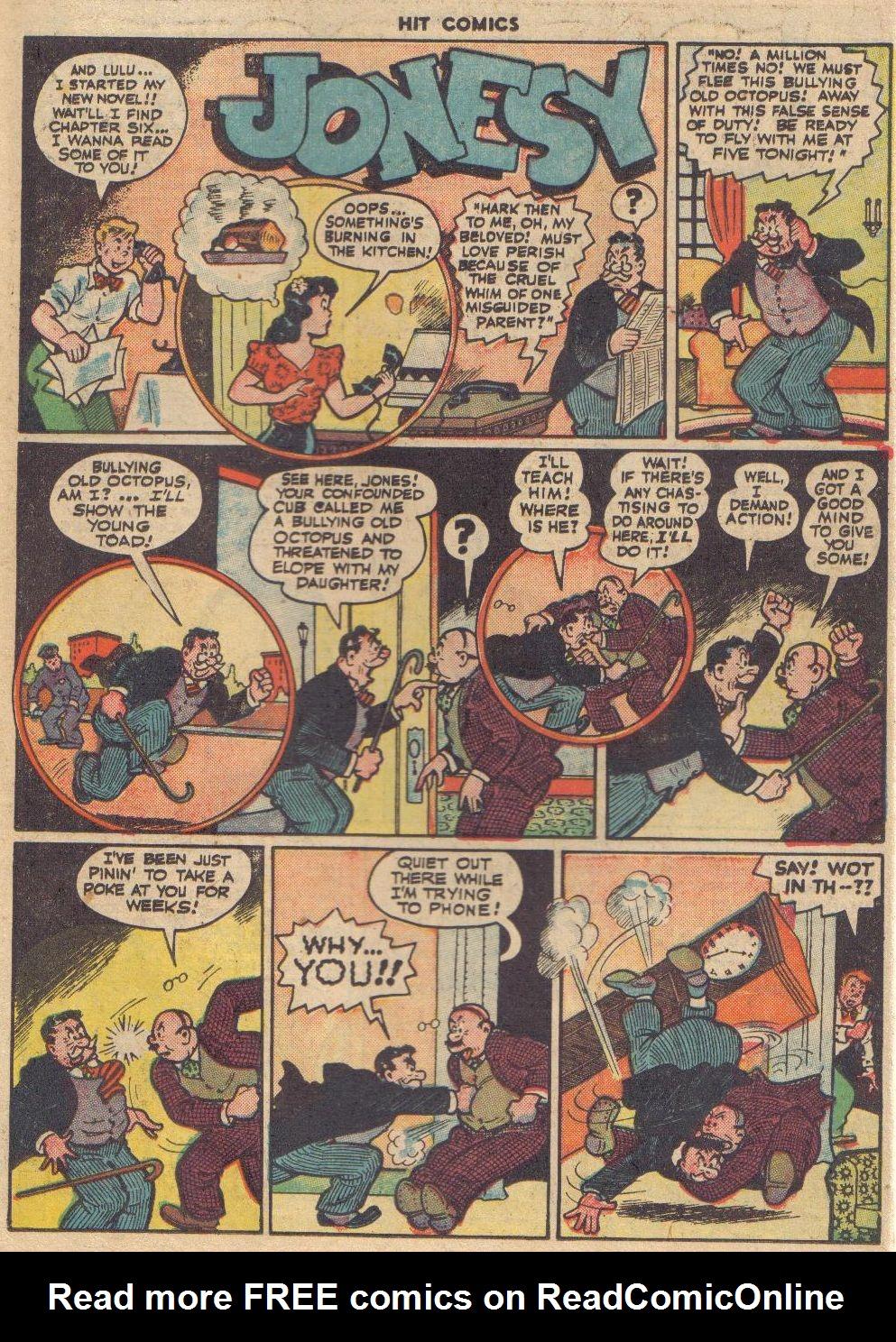 Read online Hit Comics comic -  Issue #45 - 46