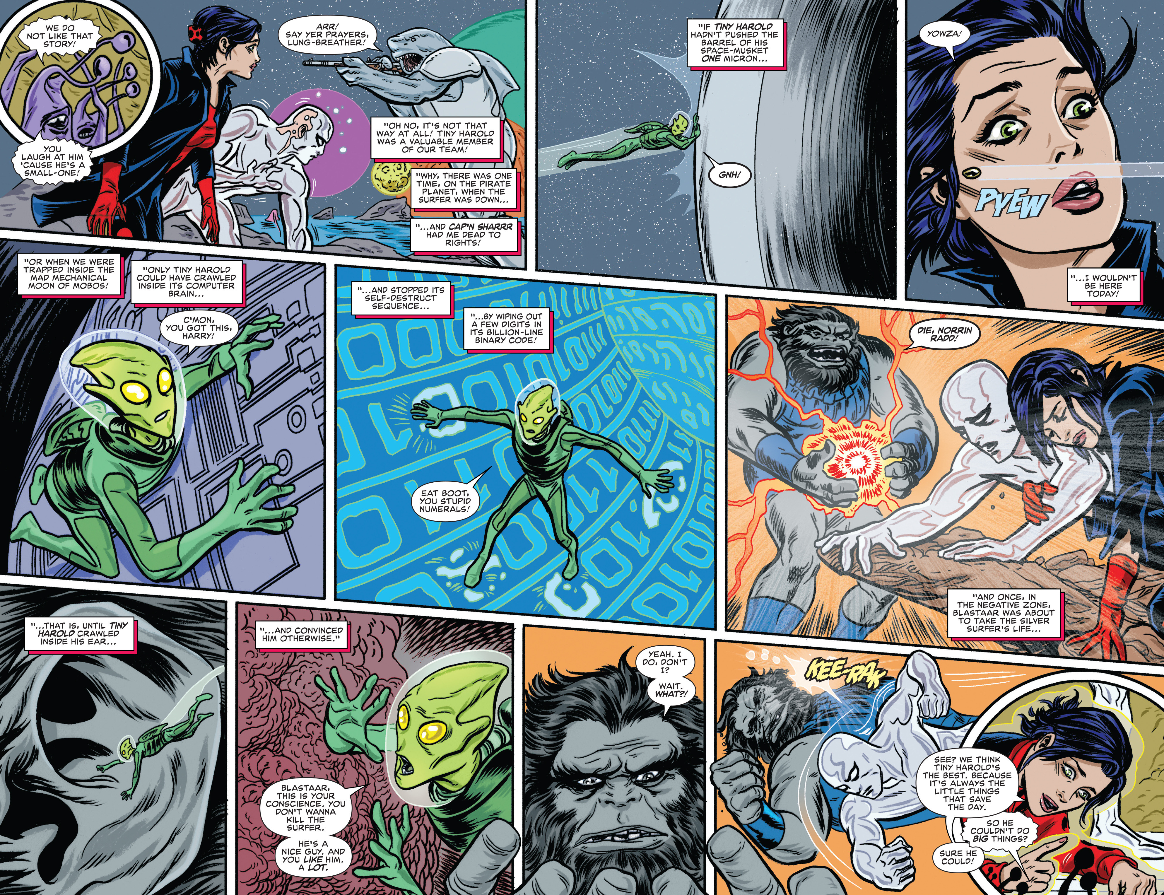 Read online Silver Surfer (2016) comic -  Issue #8 - 9