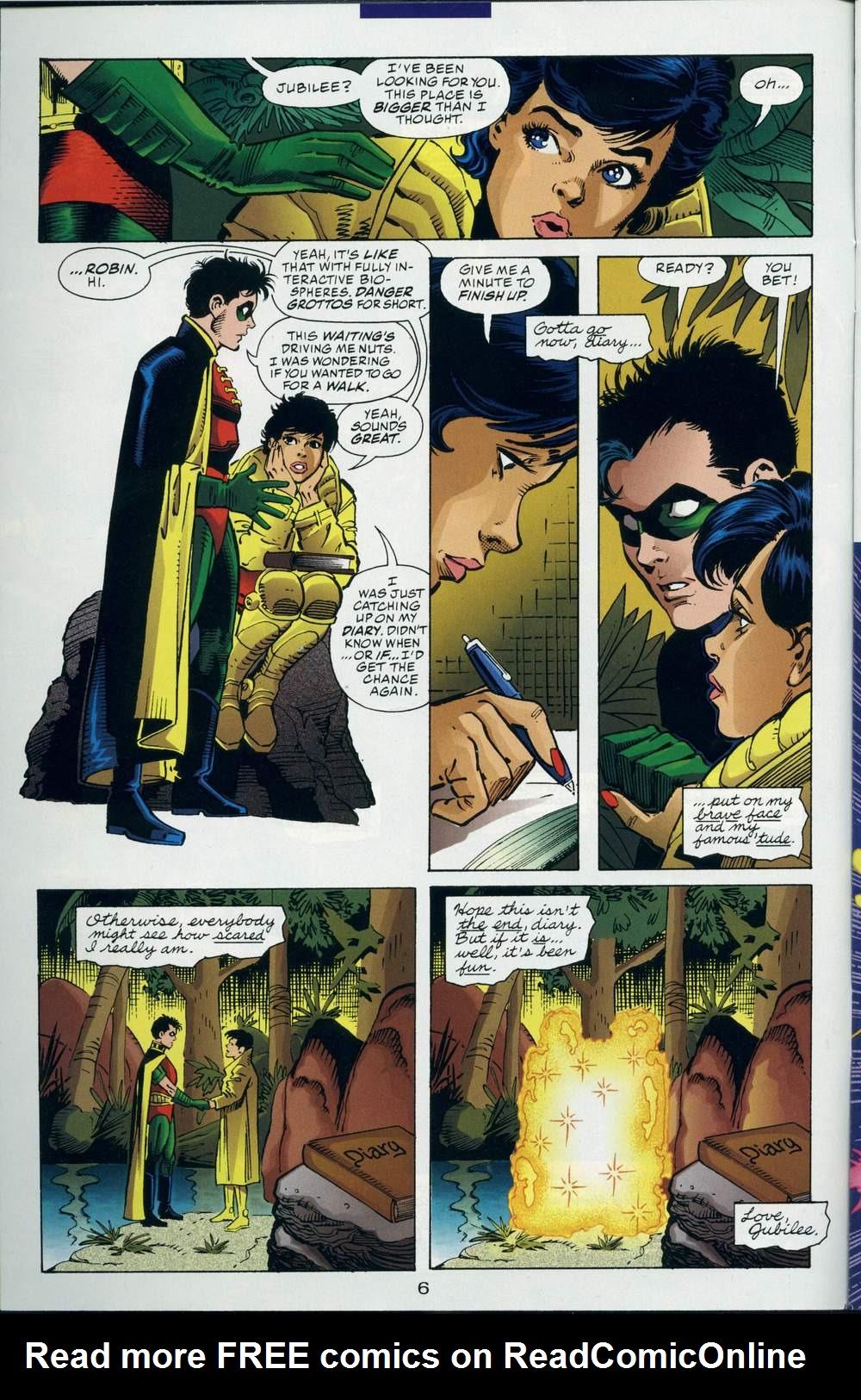 Read online DC Versus Marvel Comics comic -  Issue #3 - 7