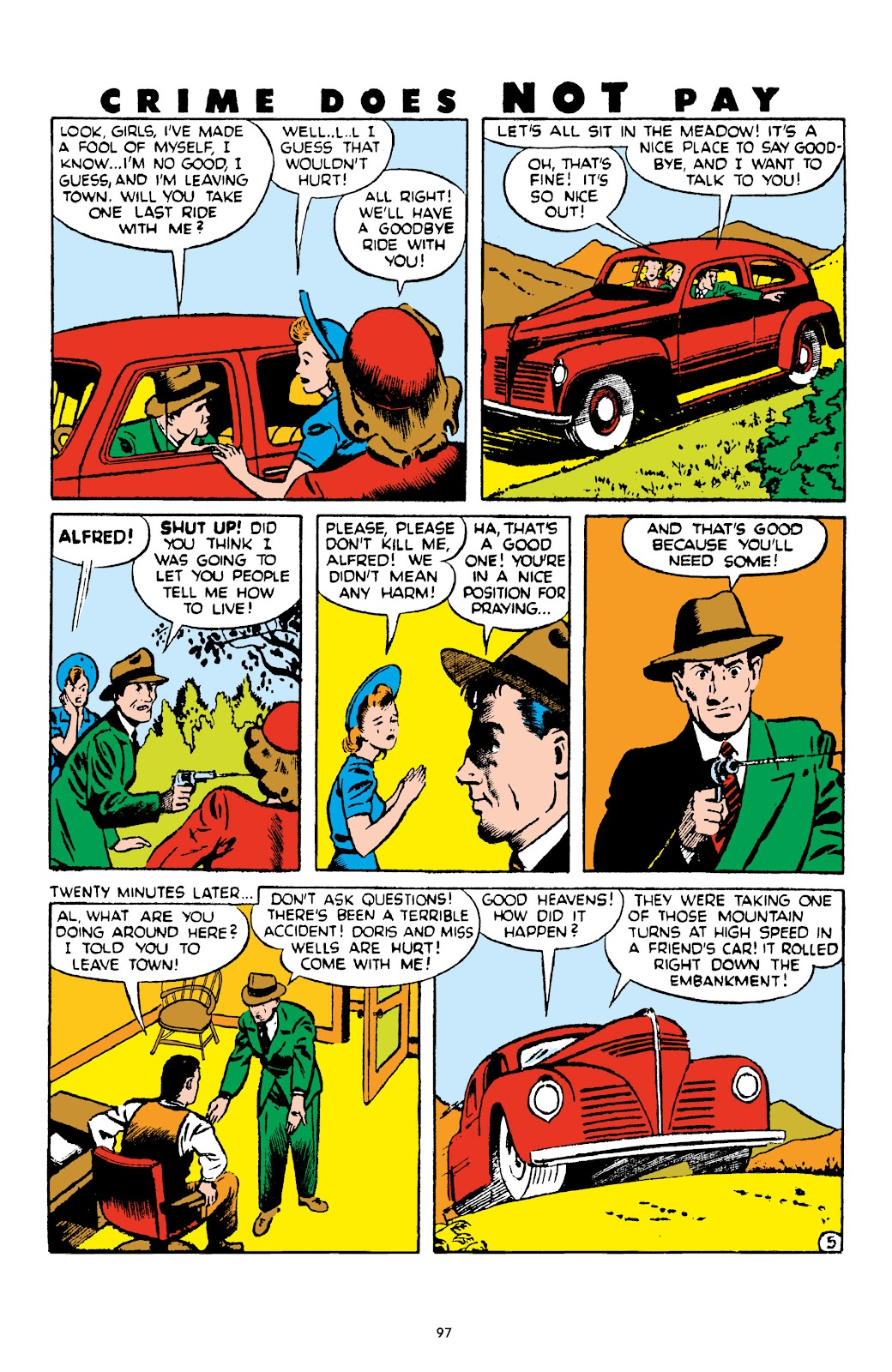 Read online Crime Does Not Pay Archives comic -  Issue # TPB 4 (Part 1) - 97
