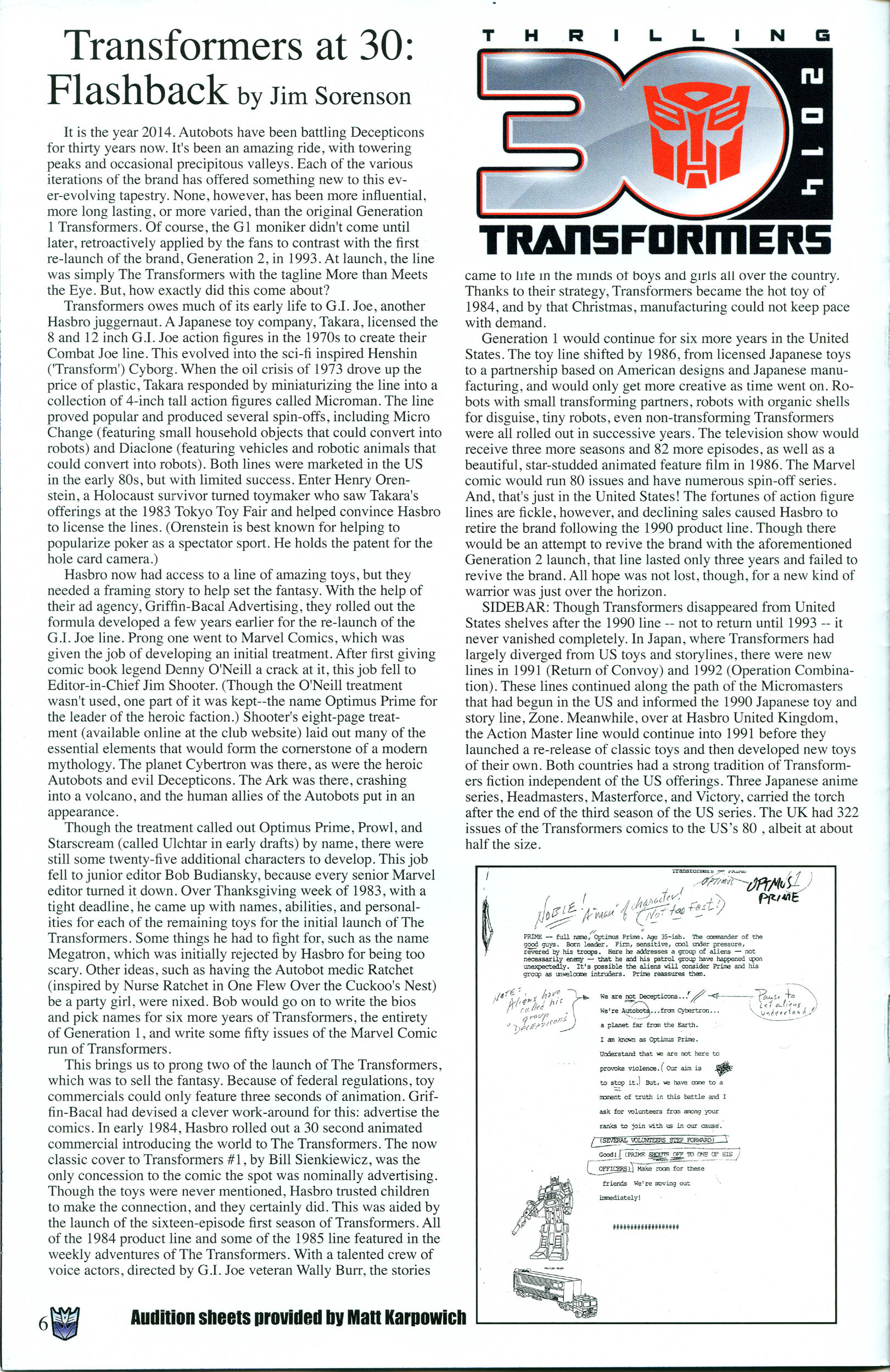 Read online Transformers: Collectors' Club comic -  Issue #55 - 6