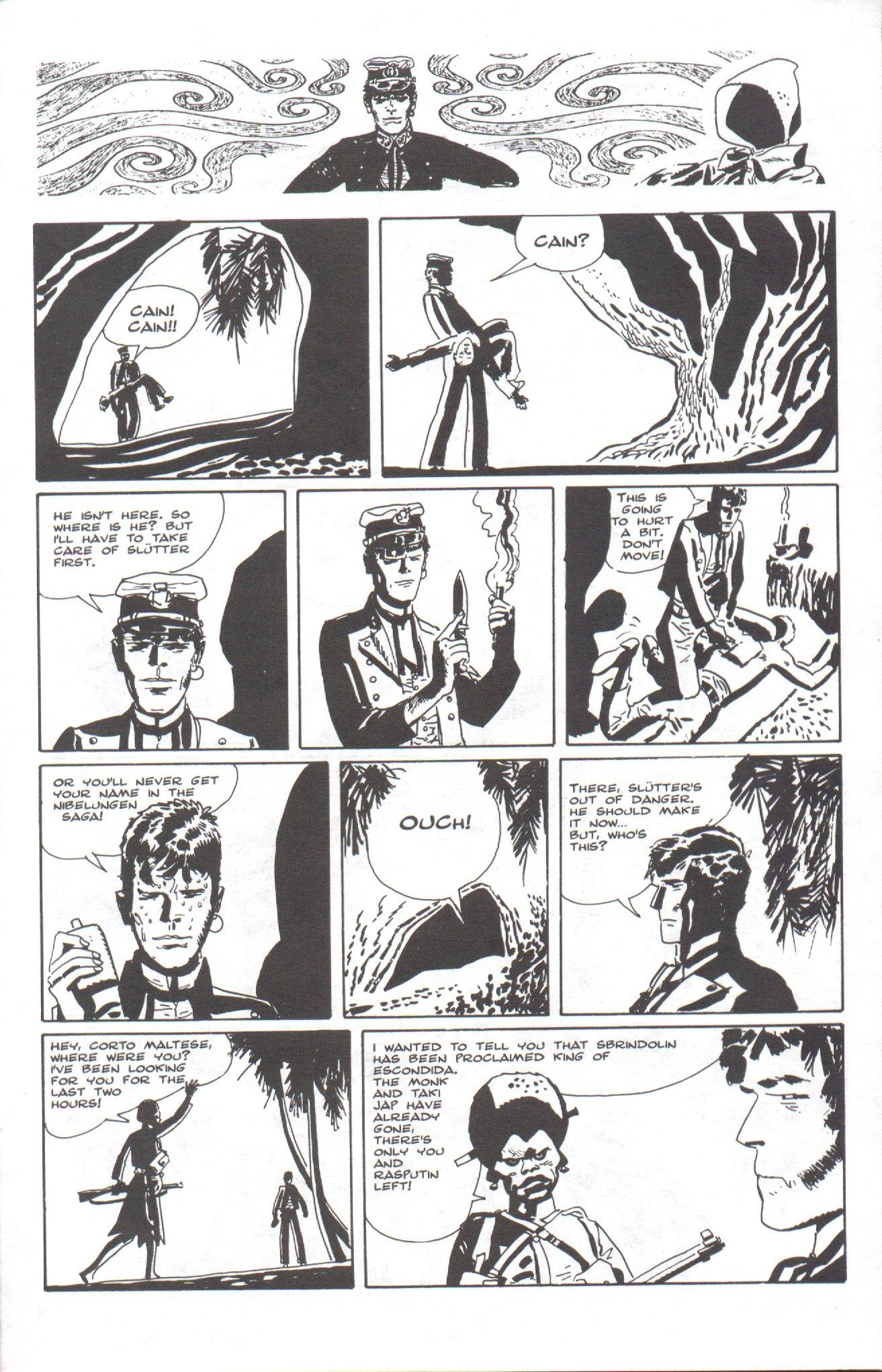 Read online Corto Maltese: Ballad of the Salt Sea comic -  Issue #6 - 21