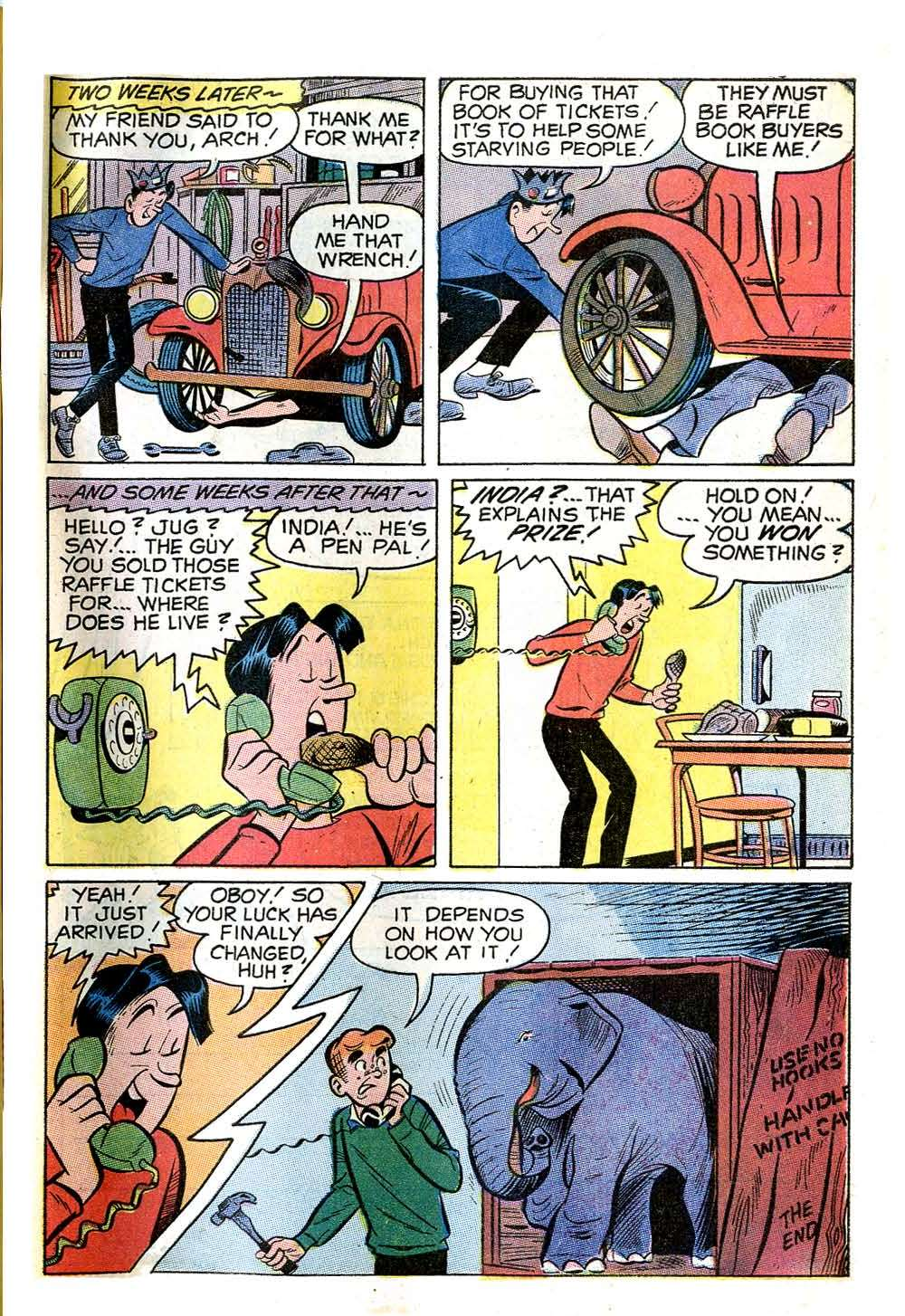 Read online Archie (1960) comic -  Issue #204 - 33