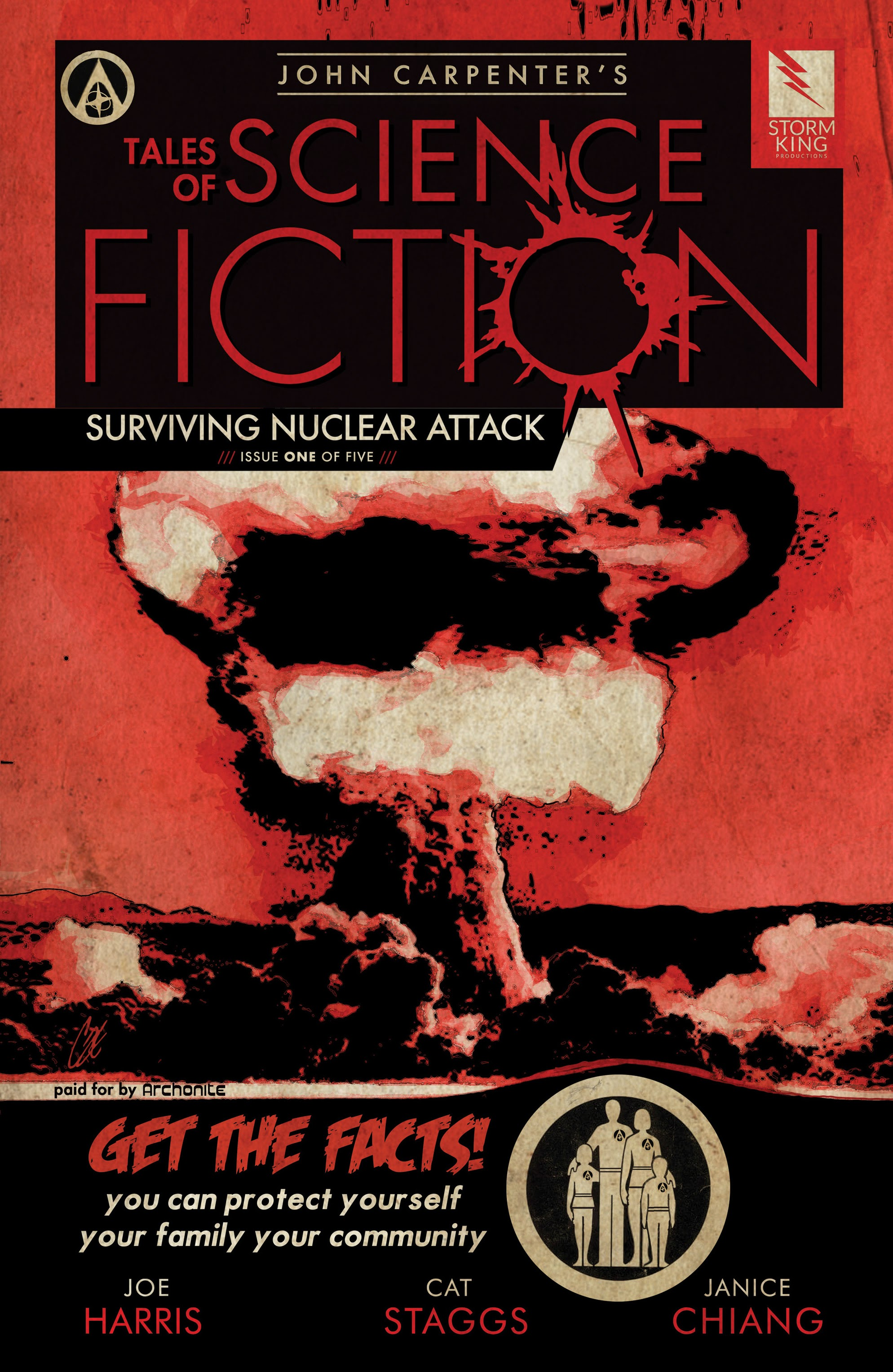 John Carpenters Tales of Science Fiction: Surviving Nuclear Attack 1 Page 1