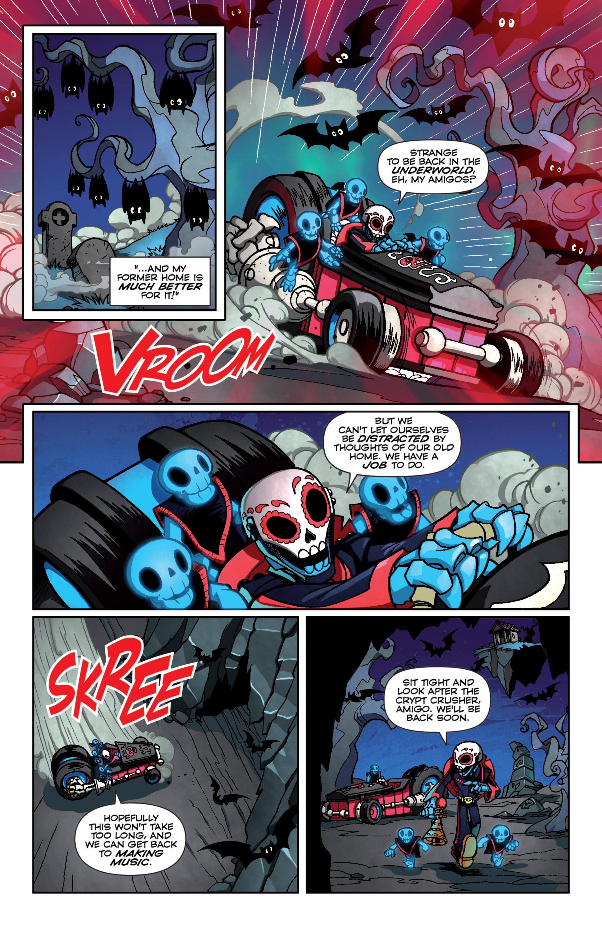 Read online Skylanders Superchargers comic -  Issue #4 - 9
