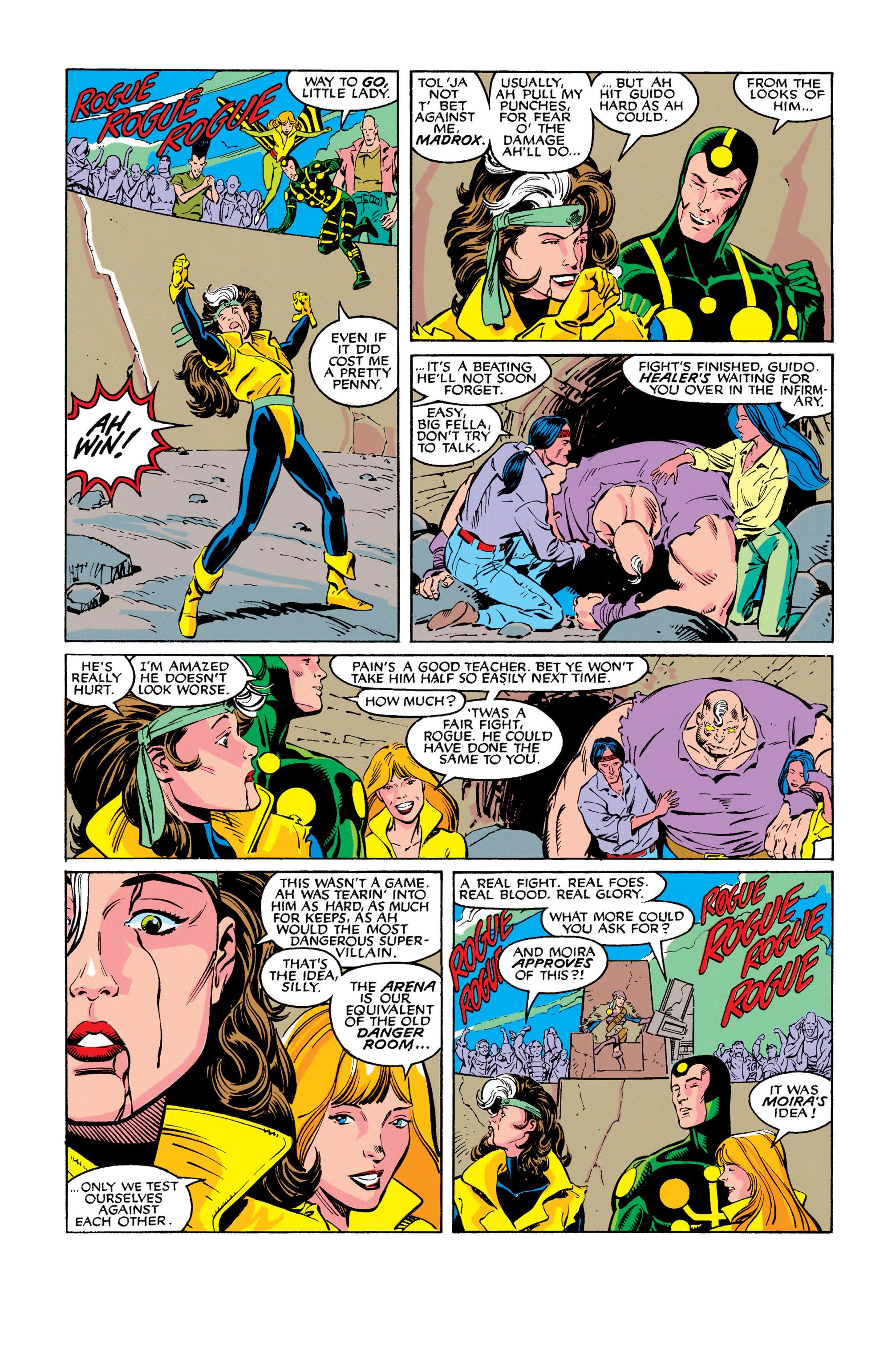Read online Uncanny X-Men (1963) comic -  Issue #278 - 11