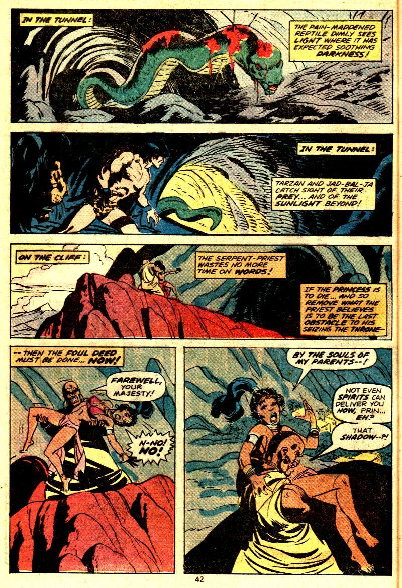 Read online Tarzan (1977) comic -  Issue # _Annual 2 - 32