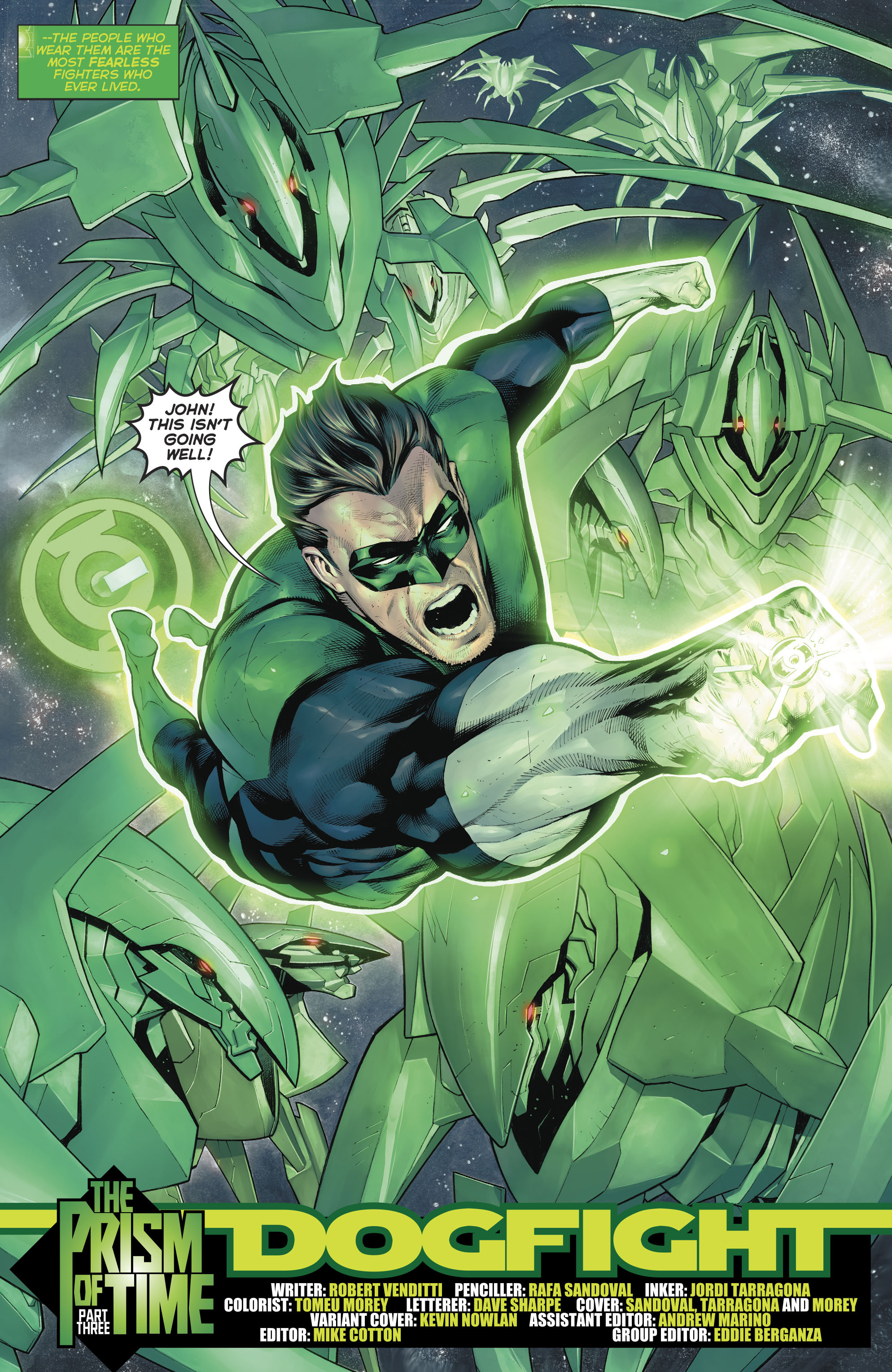 Read online Hal Jordan And The Green Lantern Corps comic -  Issue #20 - 5