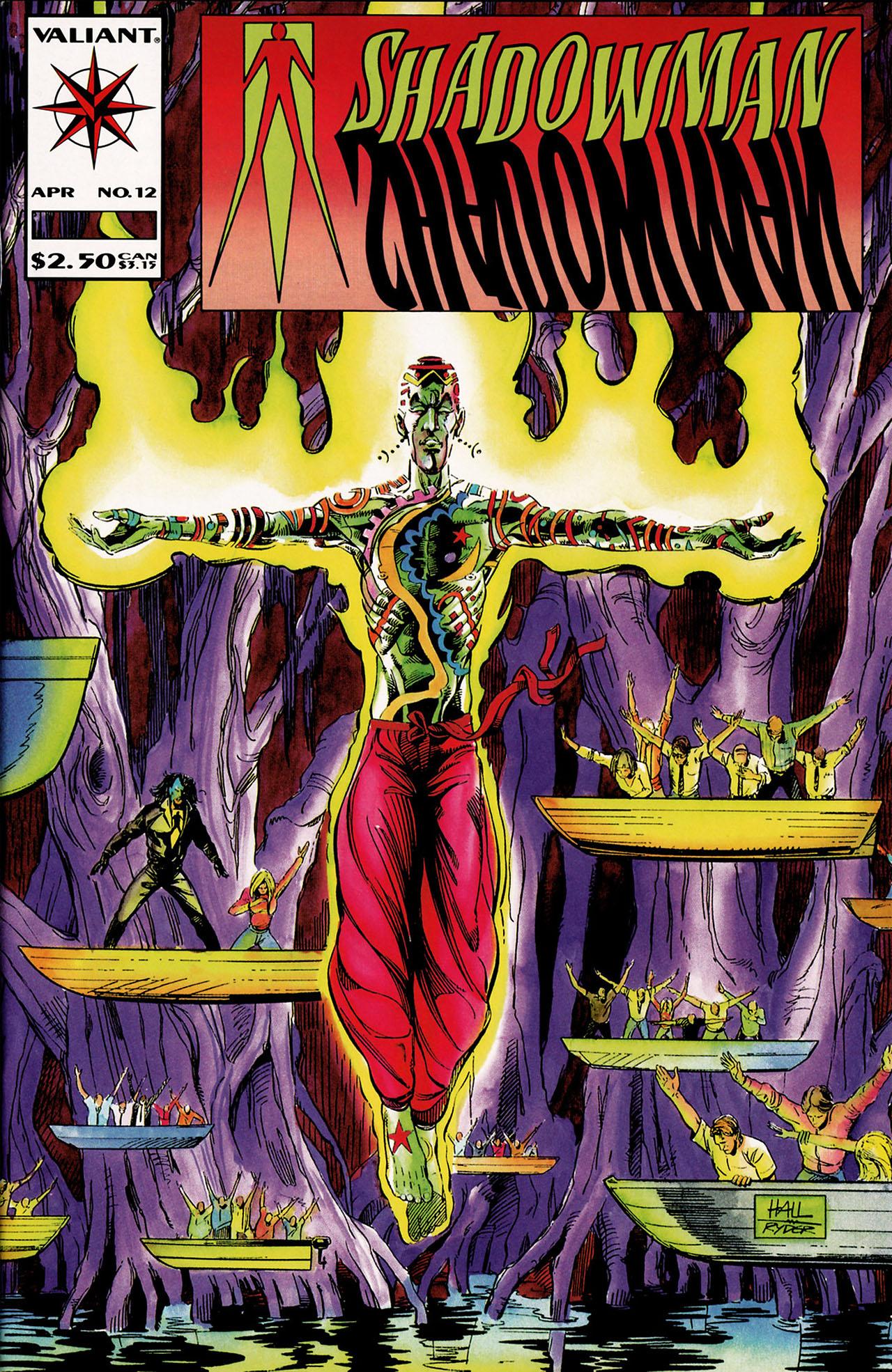 Read online Shadowman (1992) comic -  Issue #12 - 1