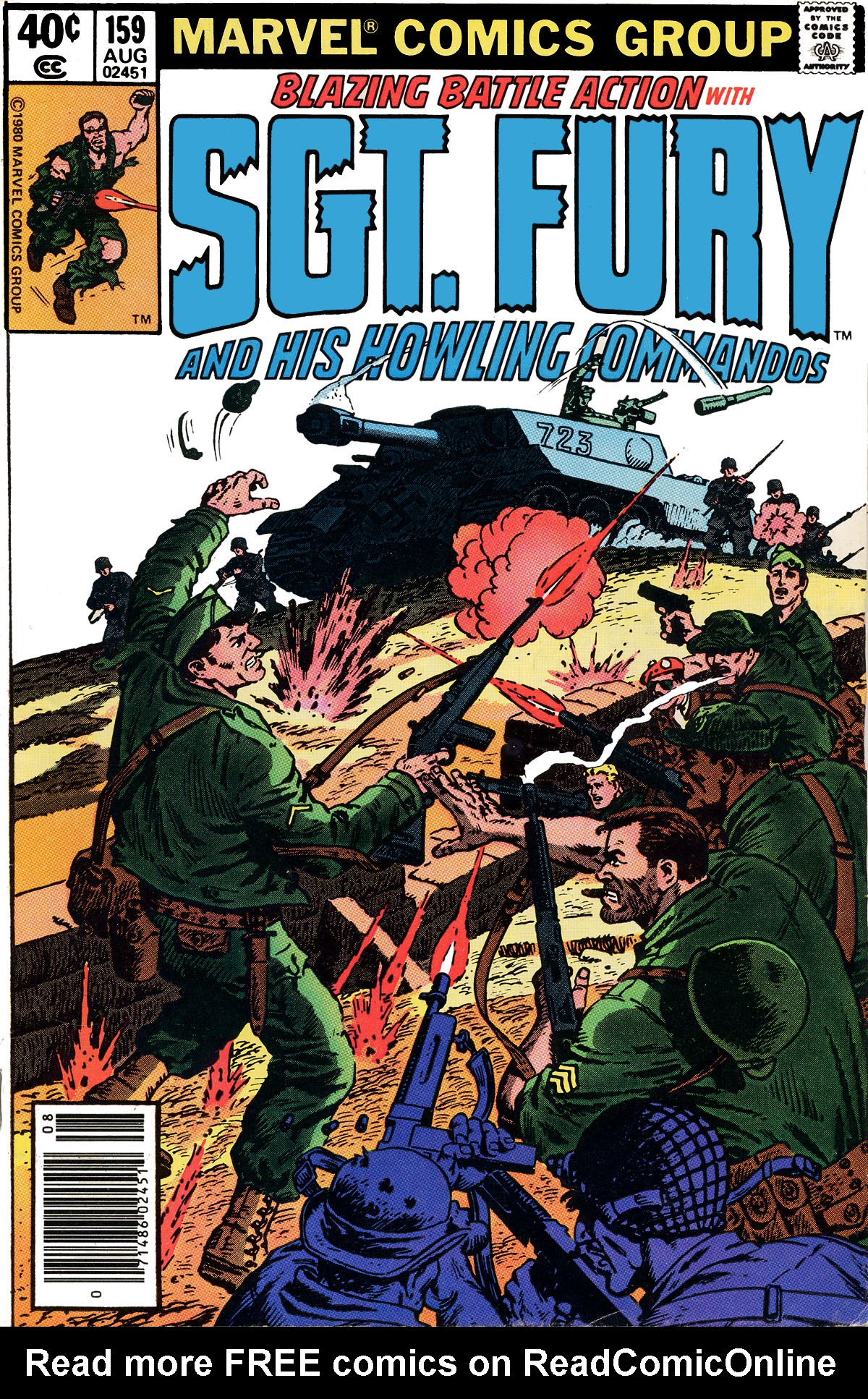 Read online Sgt. Fury comic -  Issue #159 - 1