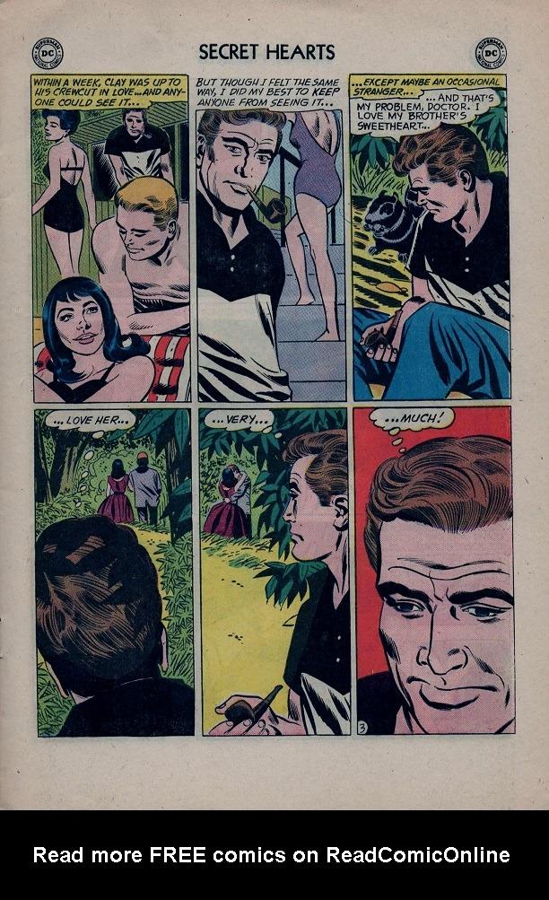 Read online Secret Hearts comic -  Issue #79 - 5