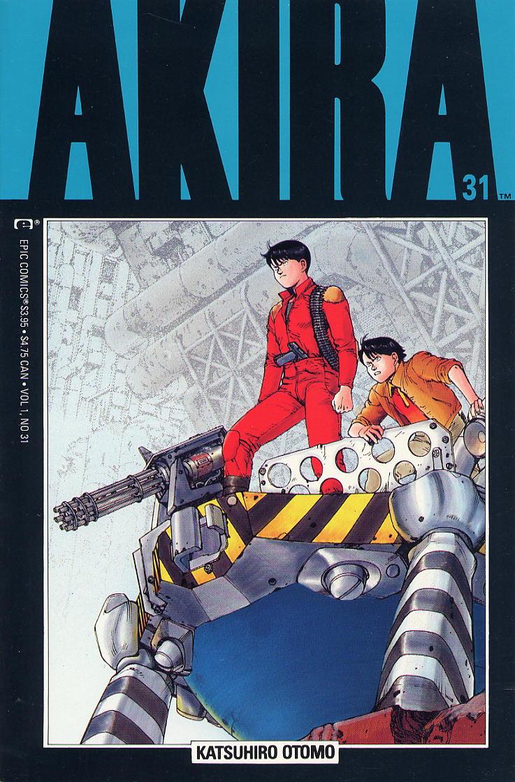 Read online Akira comic -  Issue #31 - 1