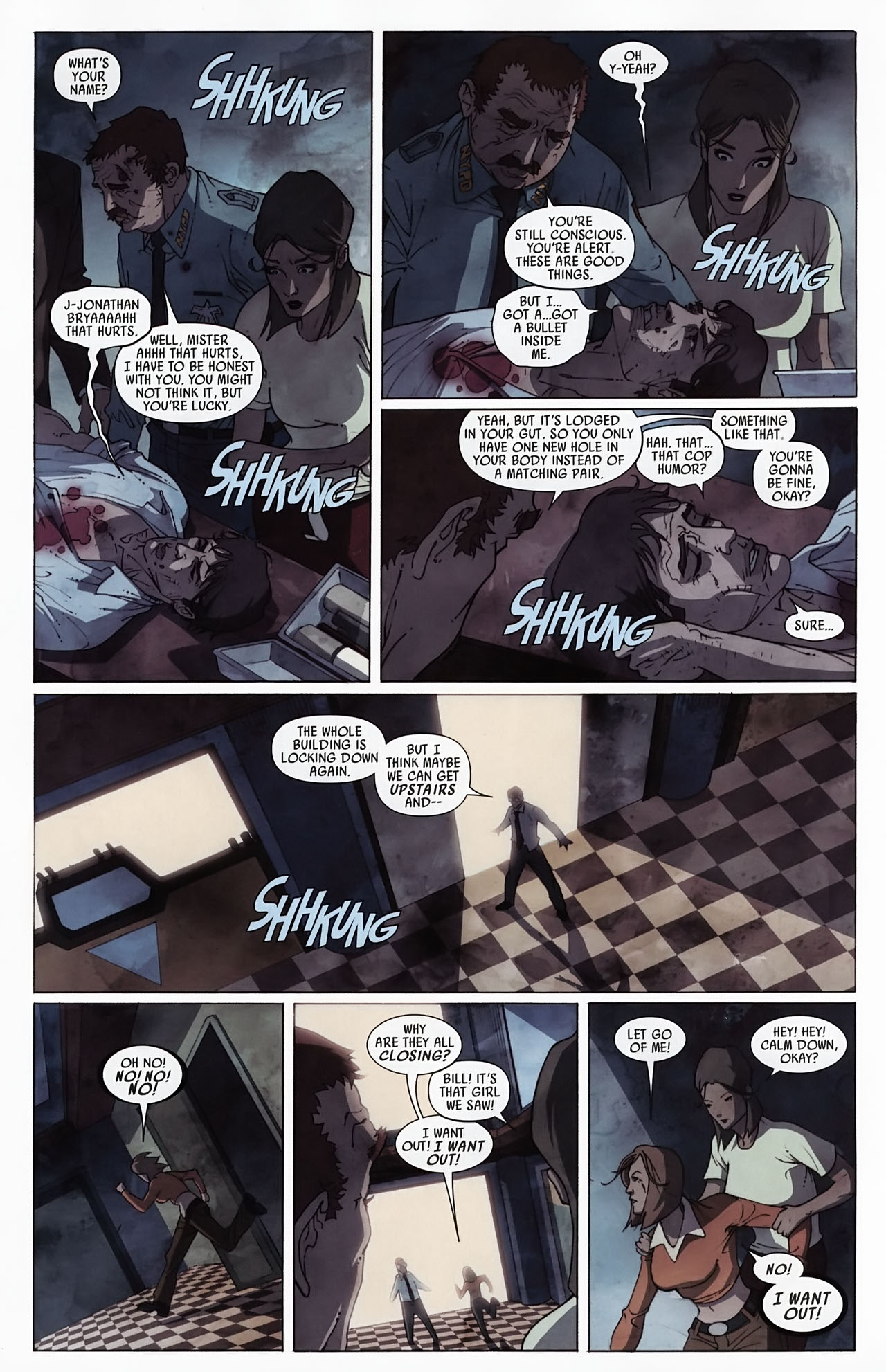 Read online Secret Invasion: Front Line comic -  Issue #4 - 16