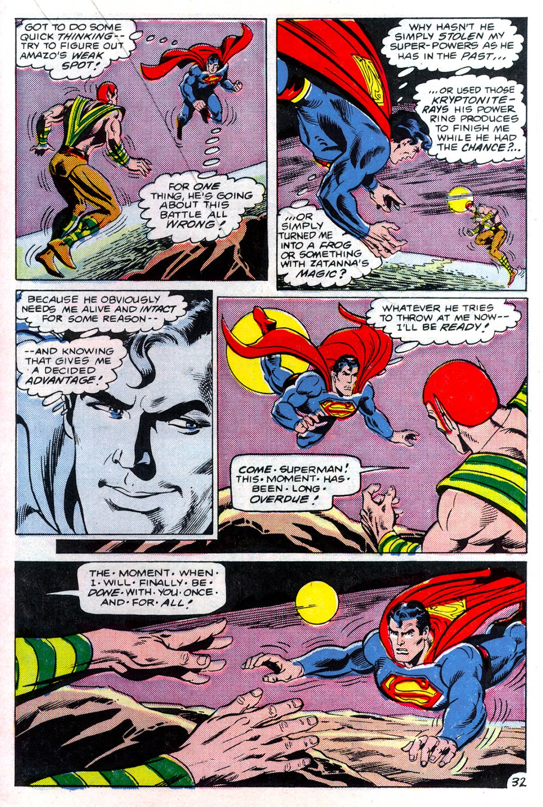 Read online Superman Special (1983) comic -  Issue #3 - 33