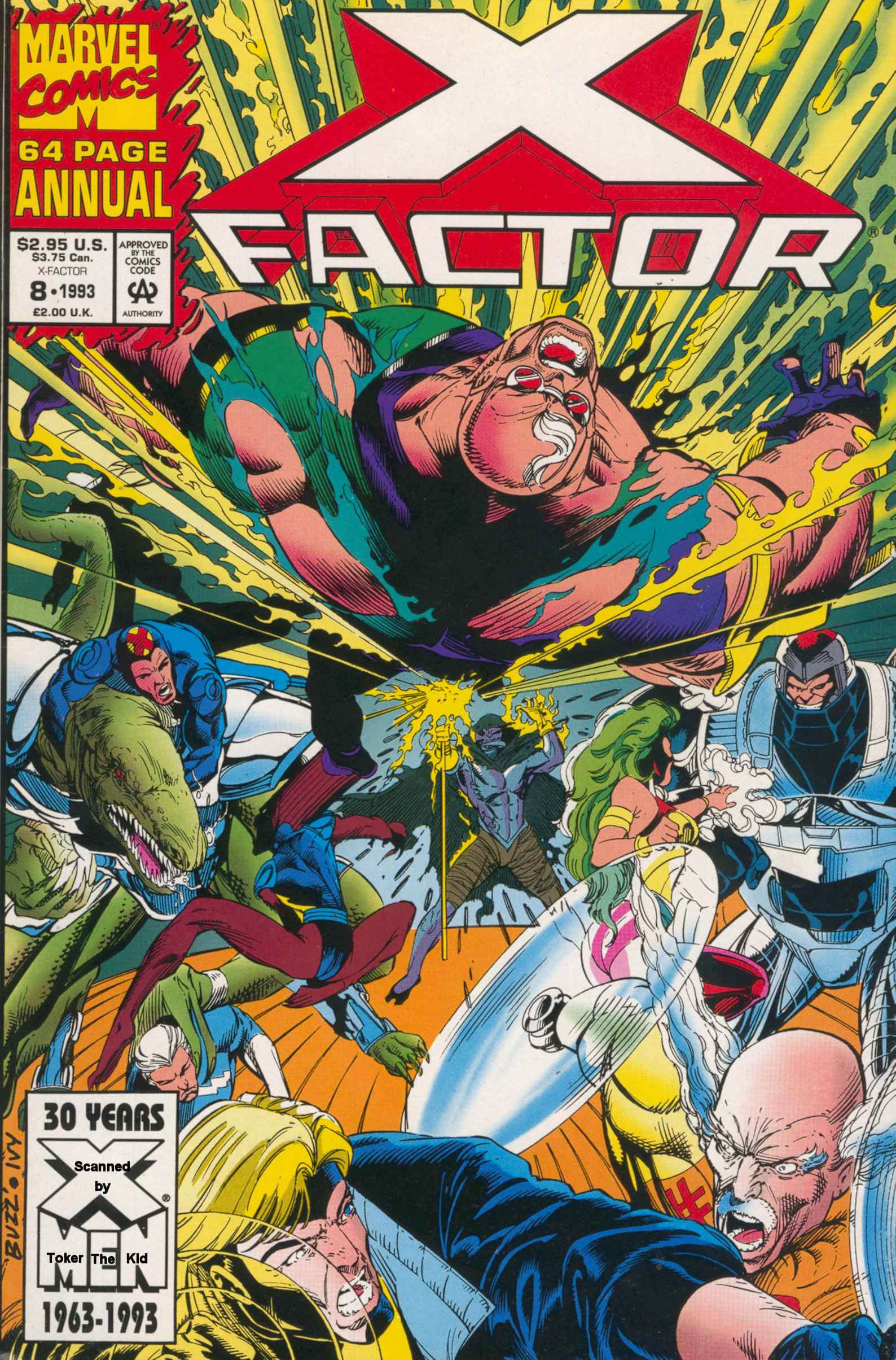 Read online X-Factor (1986) comic -  Issue # _ Annual 8 - 1