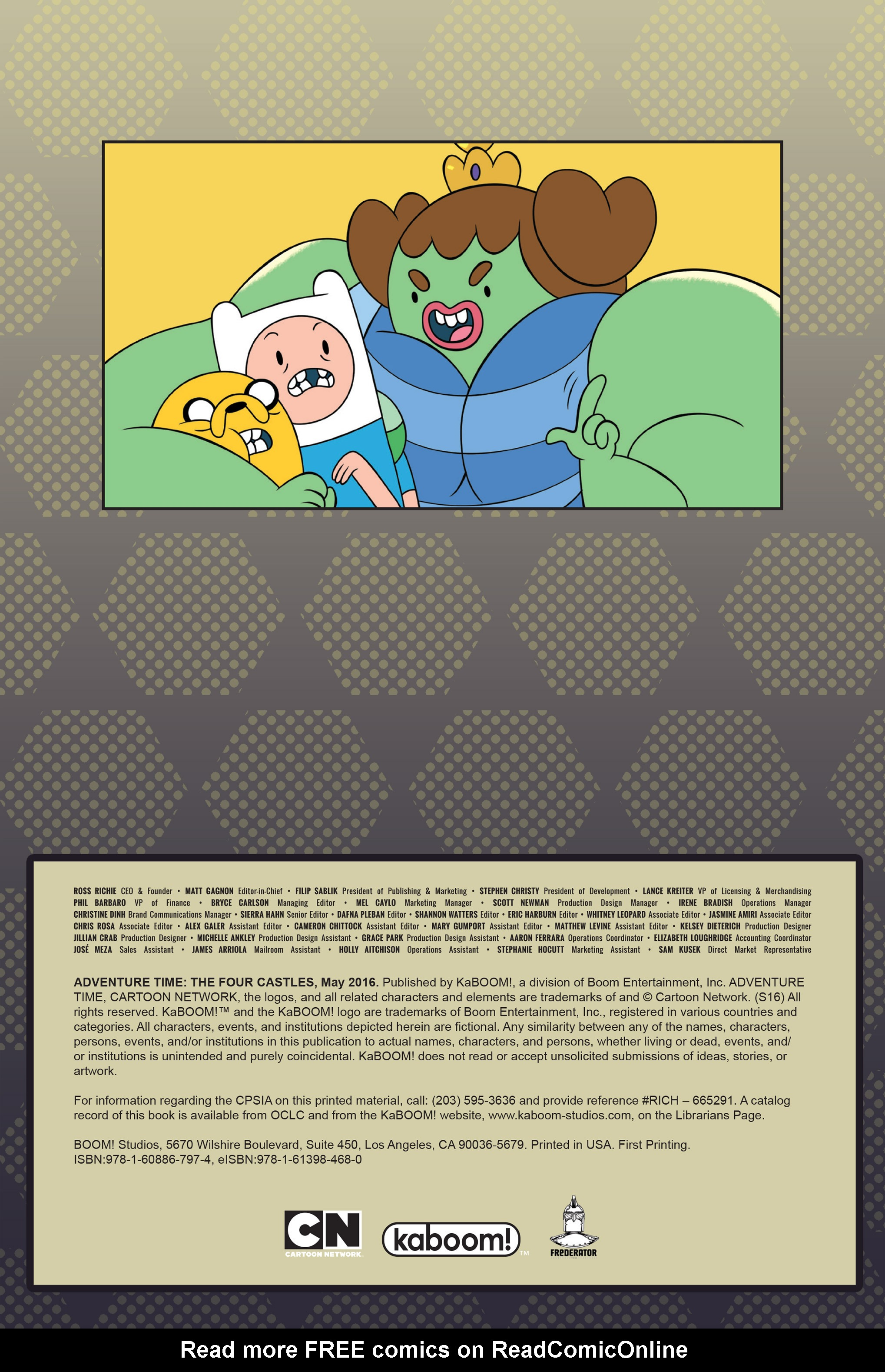 Read online Adventure Time: The Four Castles comic -  Issue #Adventure Time: The Four Castles TPB - 3