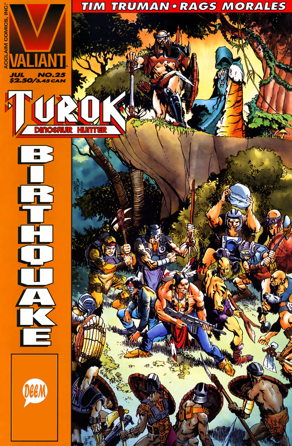 Read online Turok, Dinosaur Hunter (1993) comic -  Issue #25 - 1