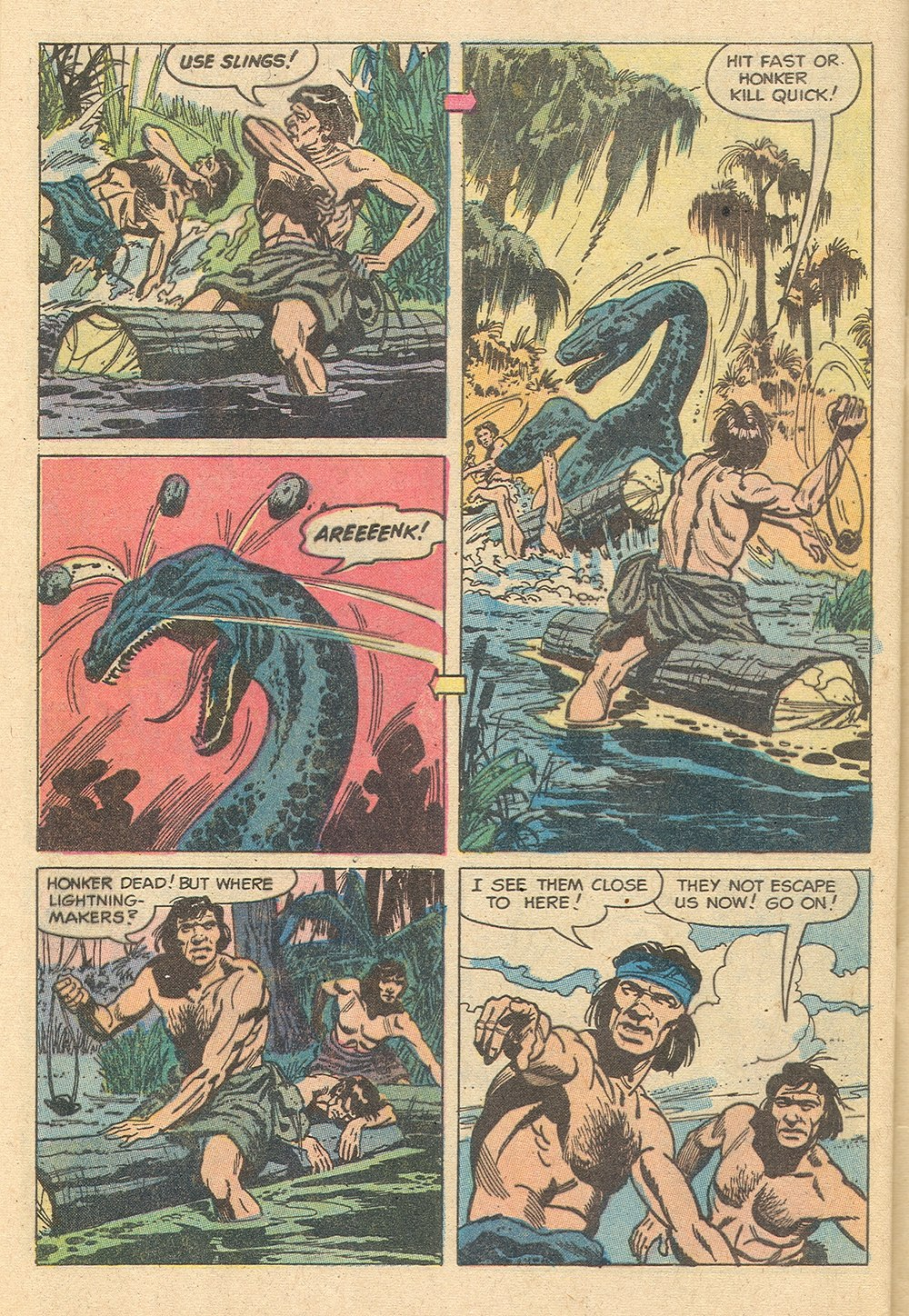Read online Turok, Son of Stone comic -  Issue #129 - 32