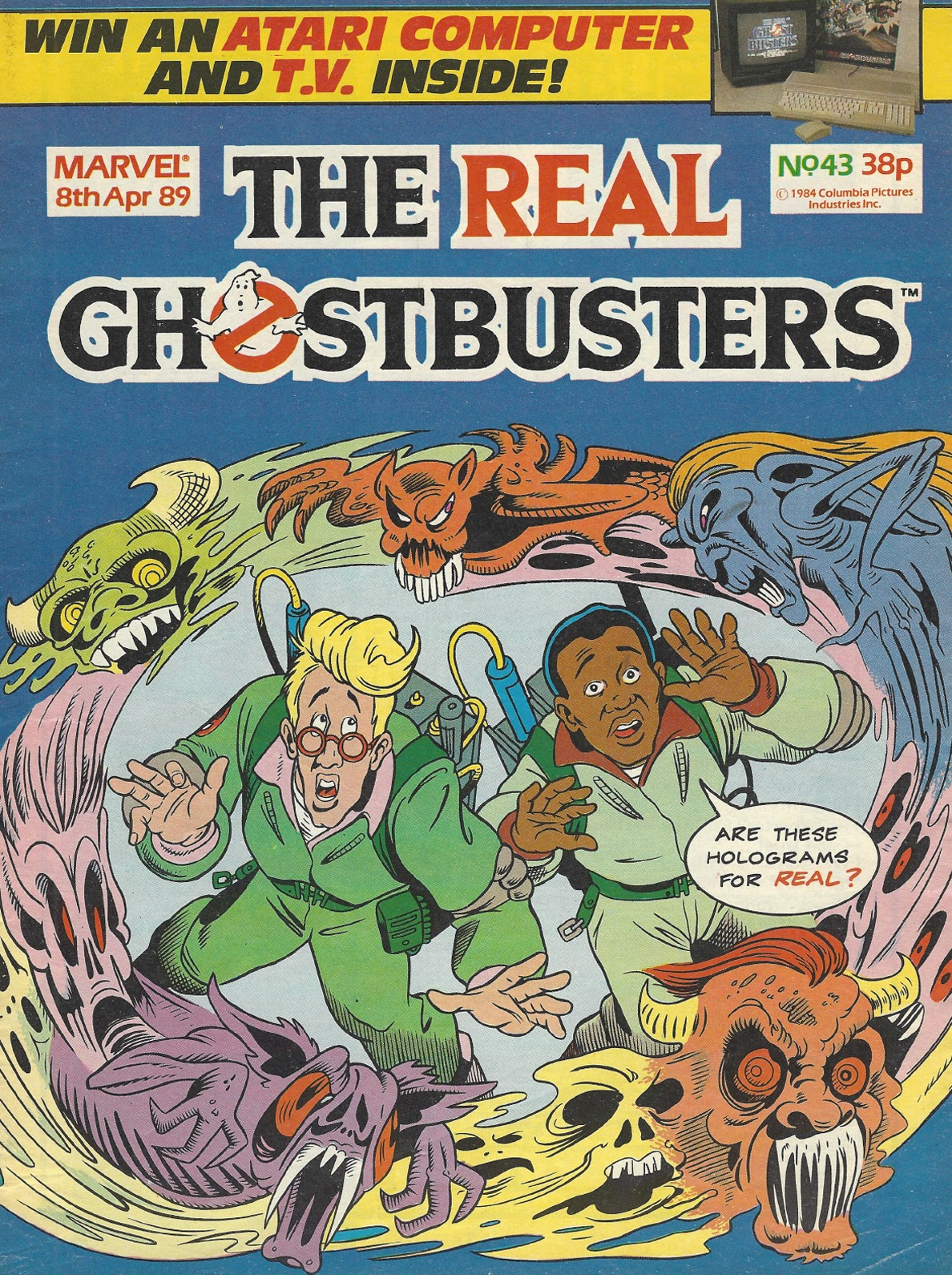 The Real Ghostbusters 43 Page 1