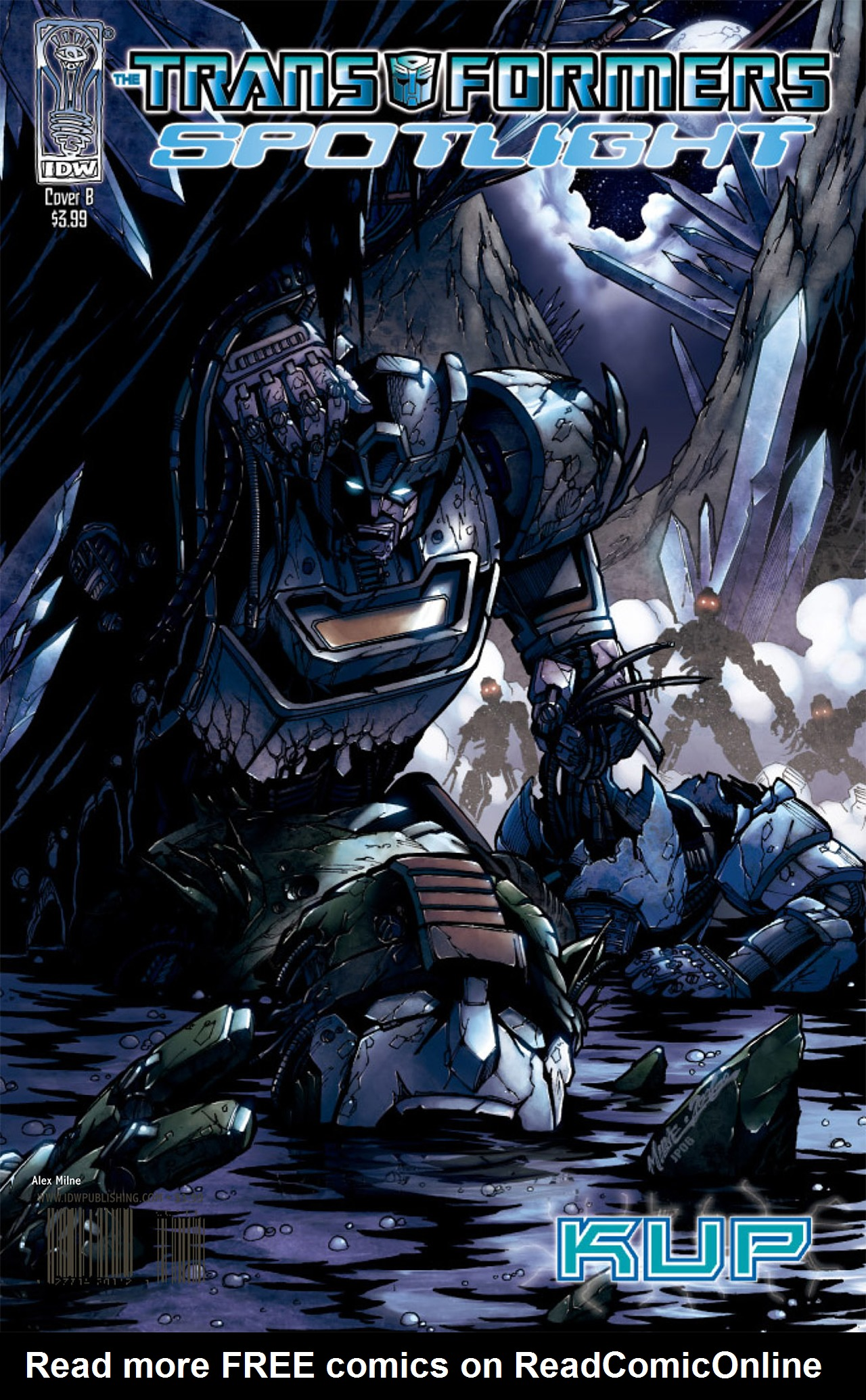 Read online Transformers Spotlight: Kup comic -  Issue # Full - 3