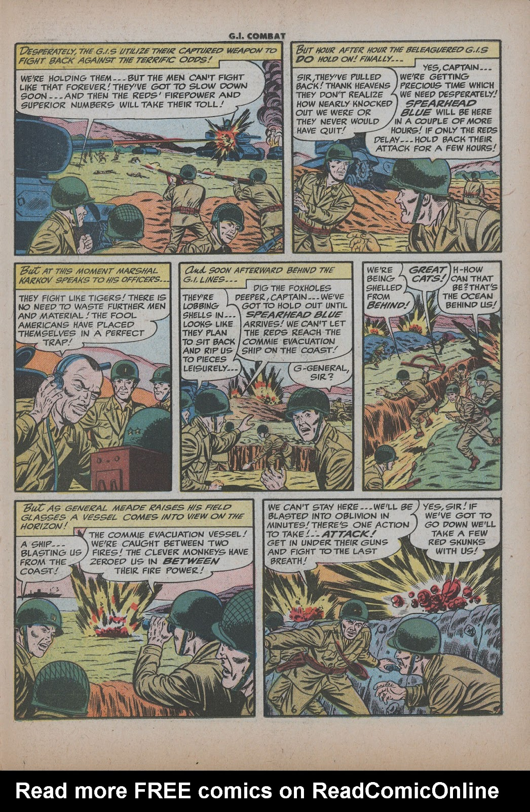 G.I. Combat (1952) issue 26 - Page 23