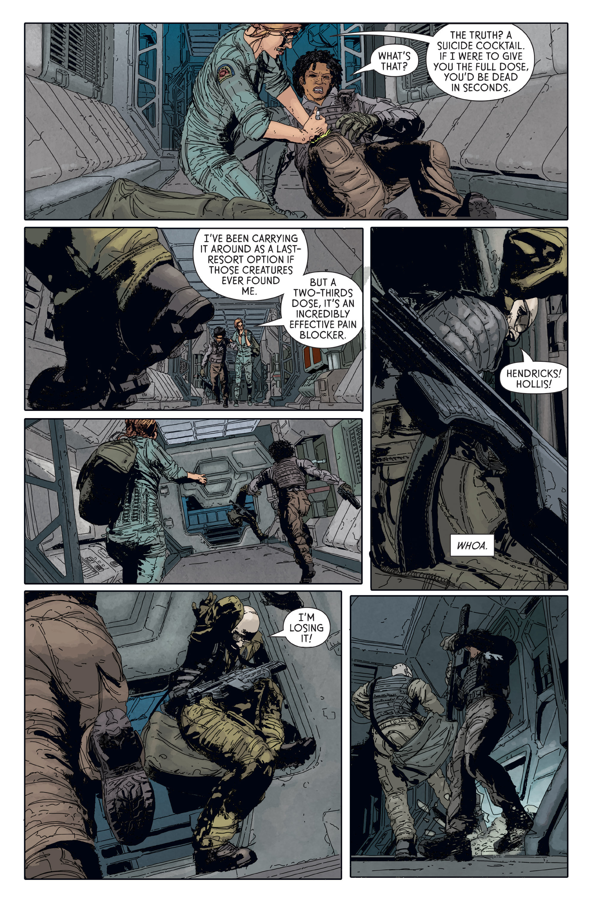 Read online Aliens: Defiance comic -  Issue #6 - 11