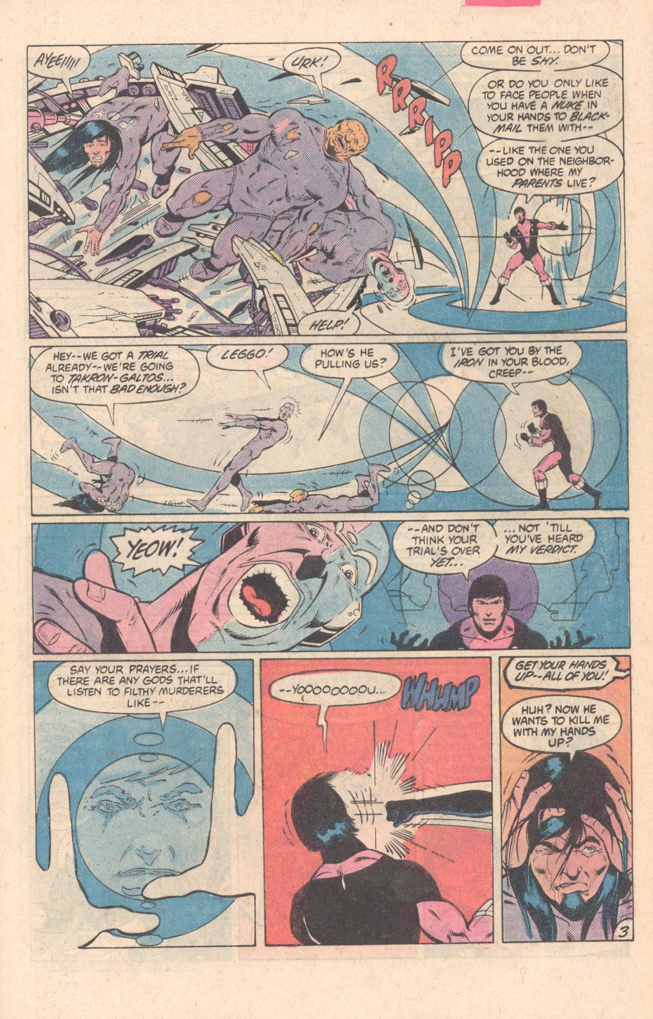 Legion of Super-Heroes (1980) 297 Page 3