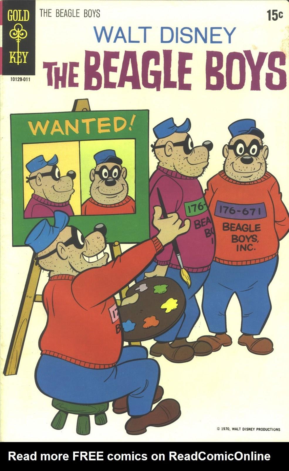 Walt Disney THE BEAGLE BOYS issue 10 - Page 1