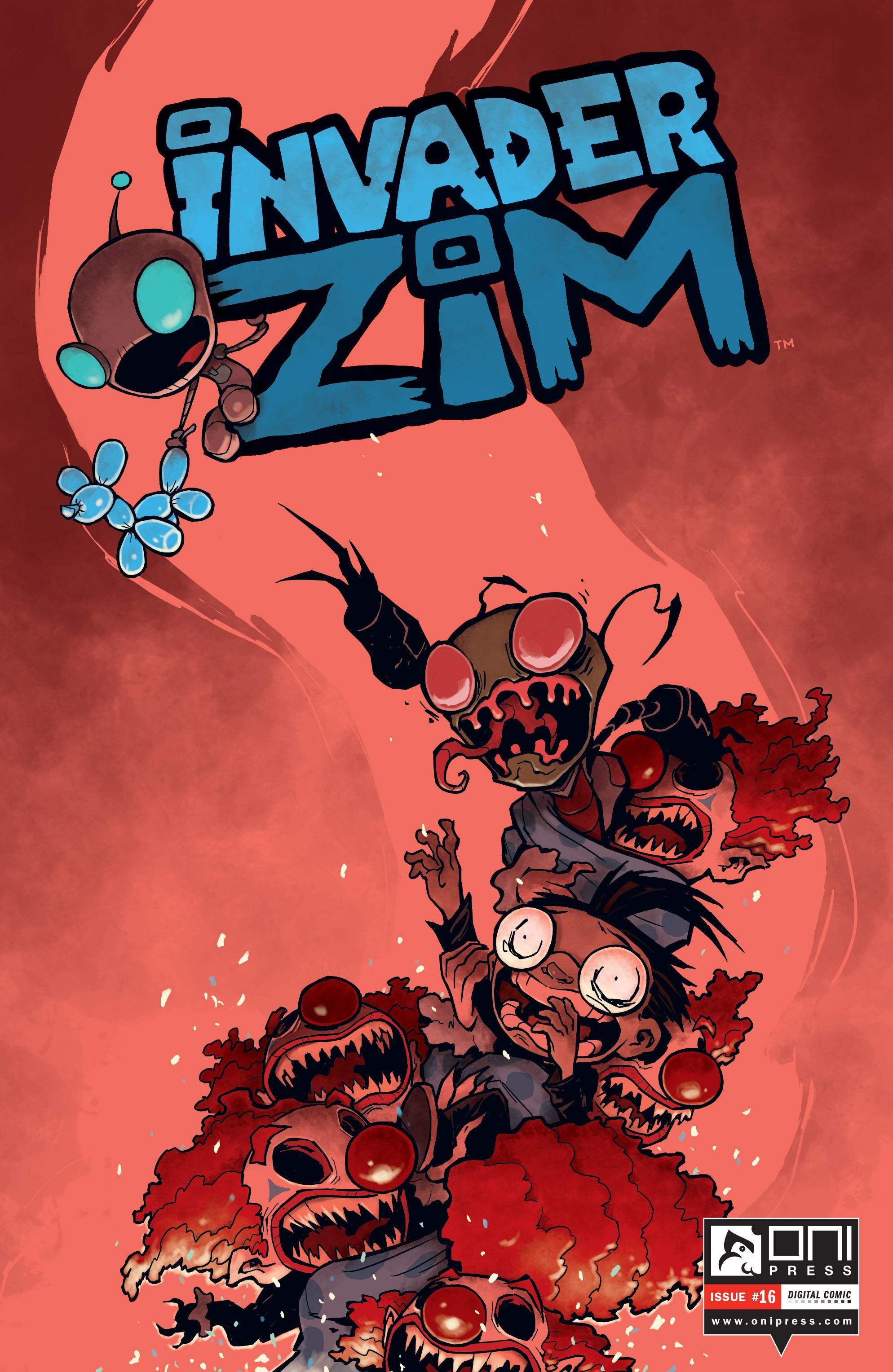 Invader Zim 16 Page 1