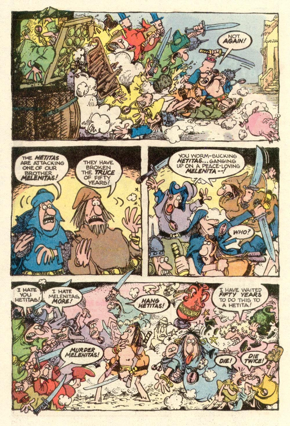 Read online Sergio Aragonés Groo the Wanderer comic -  Issue #3 - 17