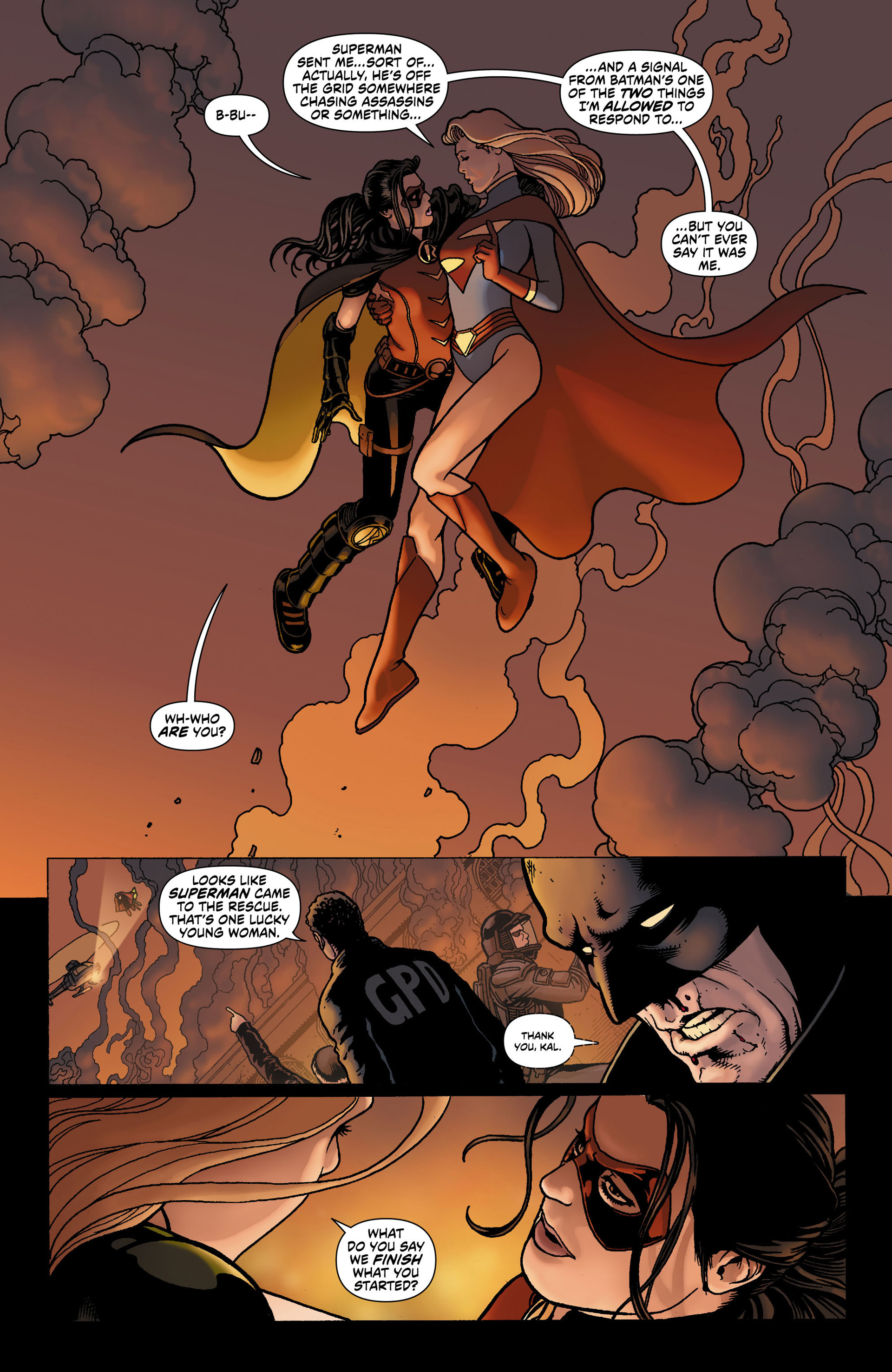Read online Worlds' Finest comic -  Issue #0 - 20