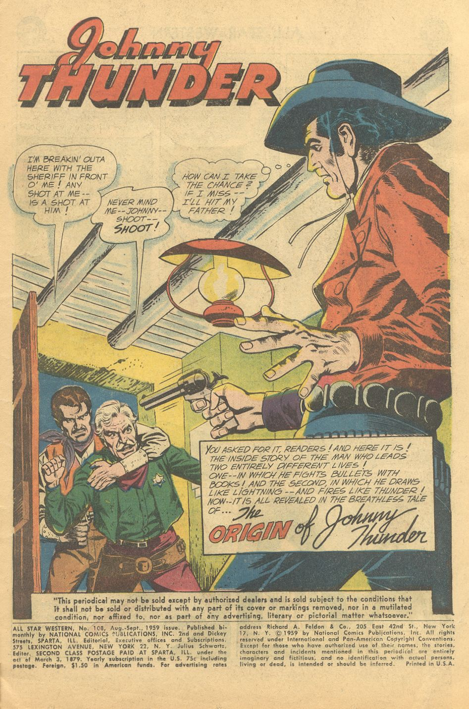 Read online All-Star Western (1951) comic -  Issue #108 - 3