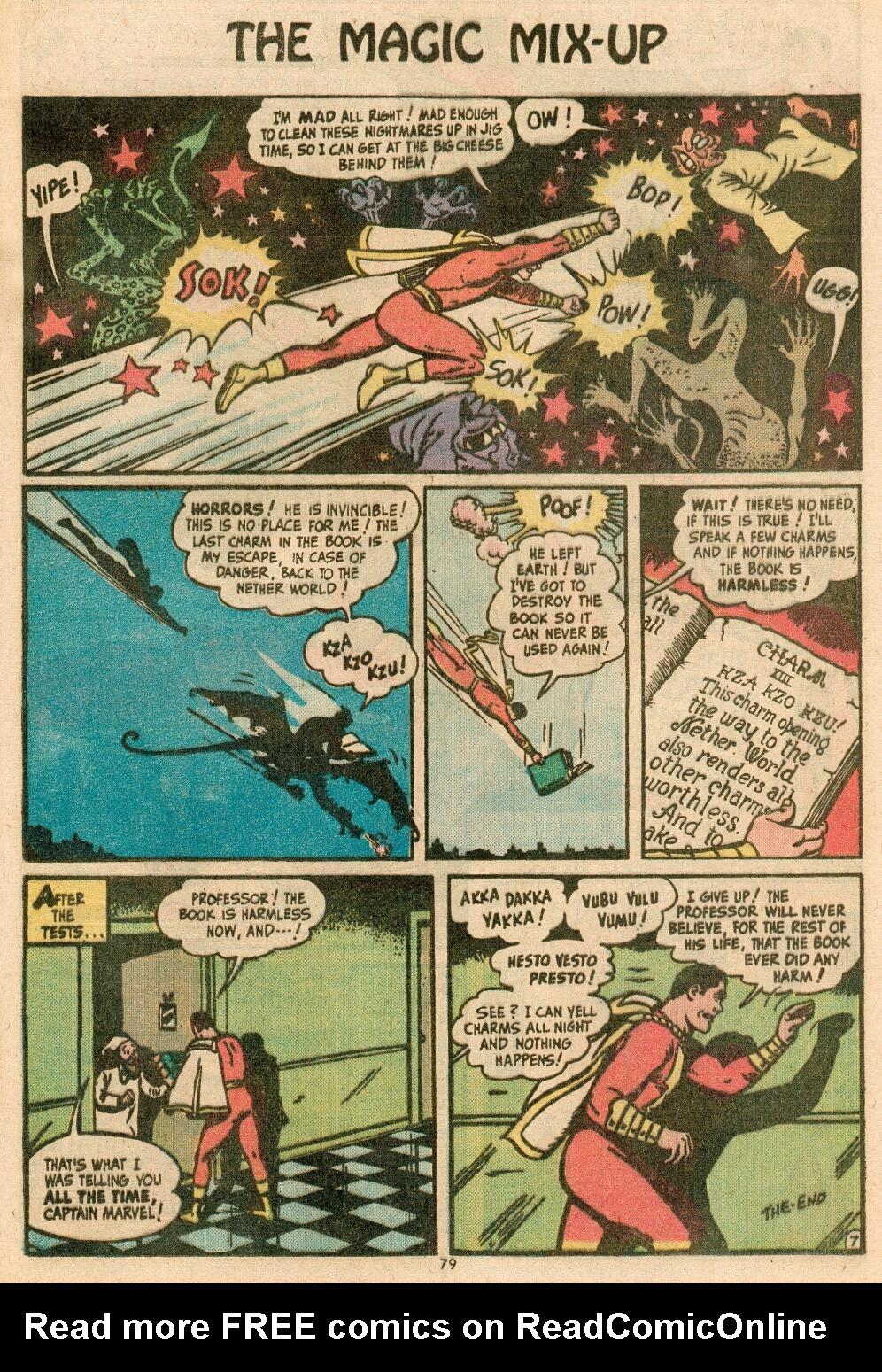 Read online Shazam! (1973) comic -  Issue #14 - 67