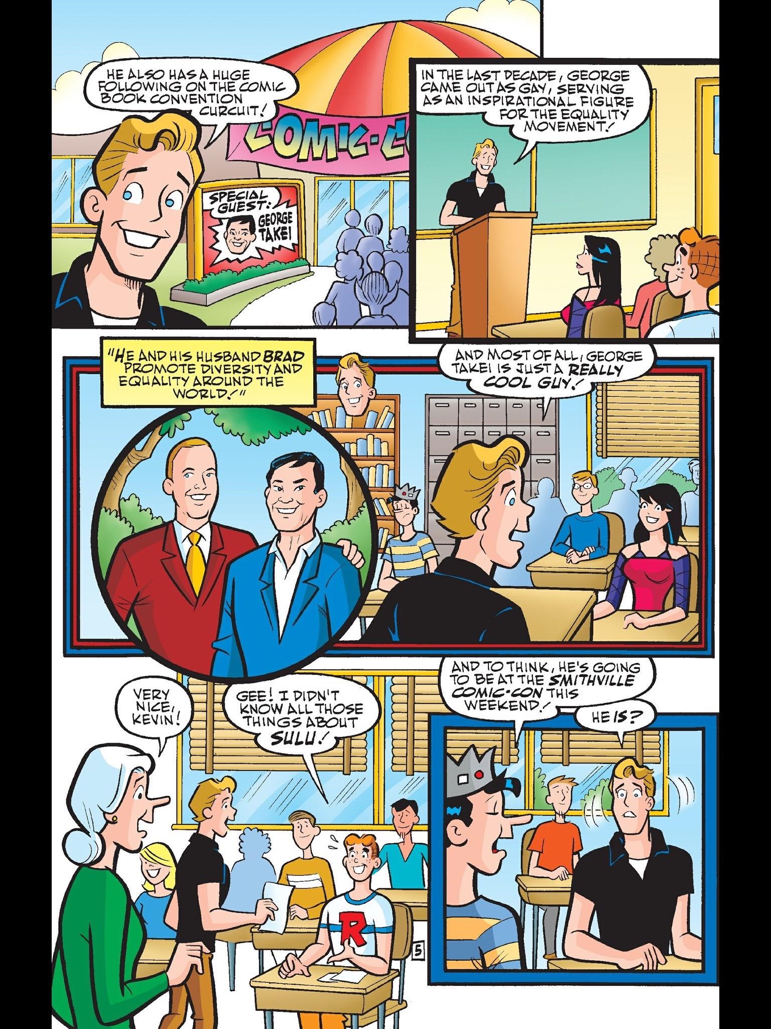 Read online Kevin Keller comic -  Issue #6 - 6