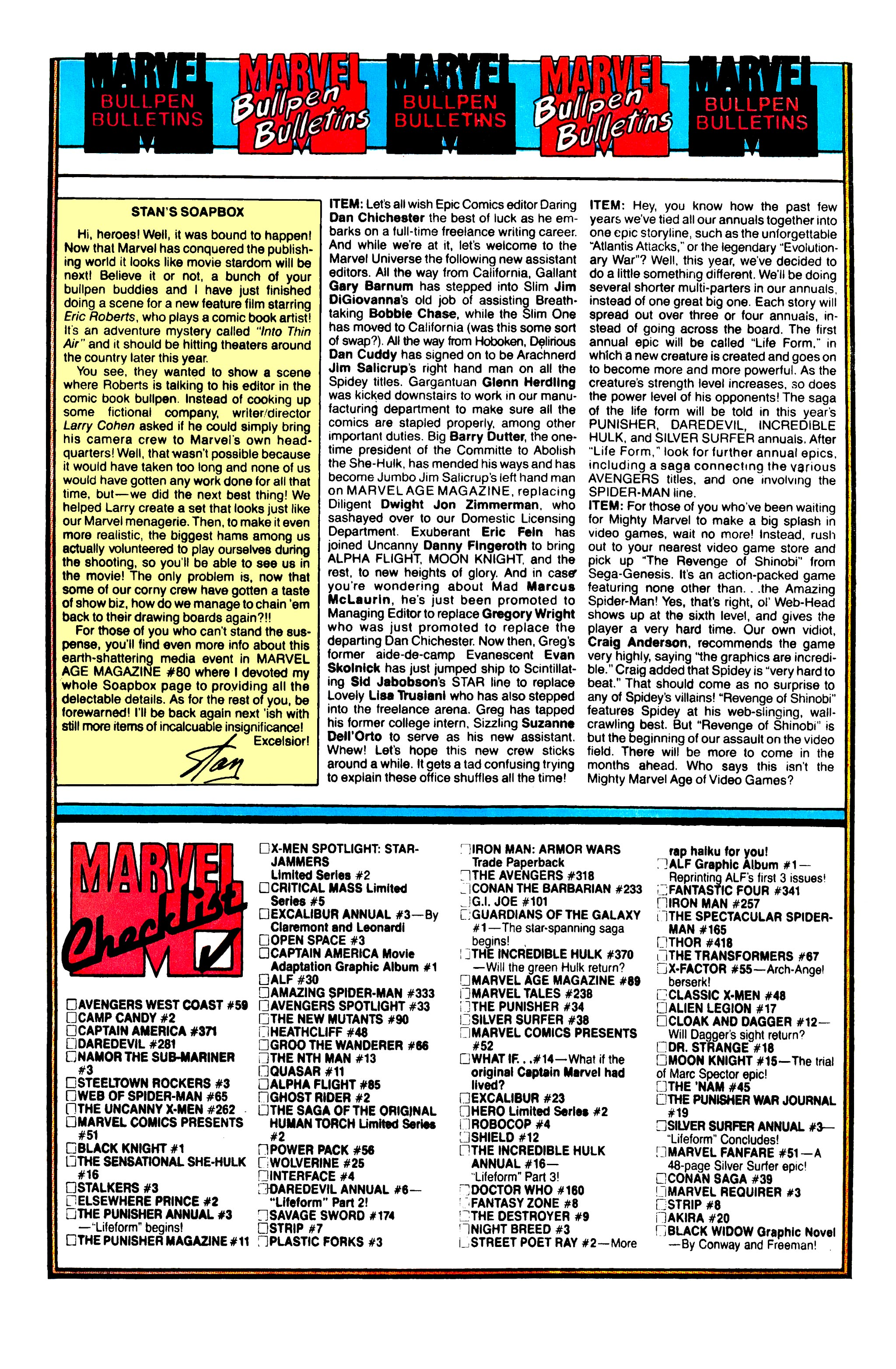 Read online Uncanny X-Men (1963) comic -  Issue #261 - 20