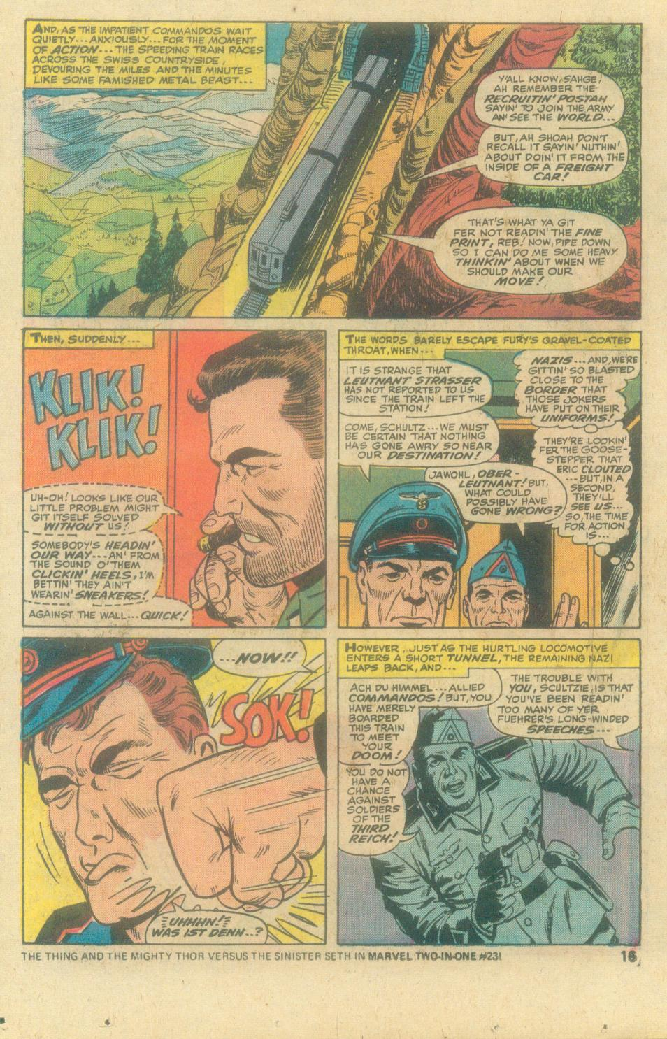 Read online Sgt. Fury comic -  Issue #138 - 18