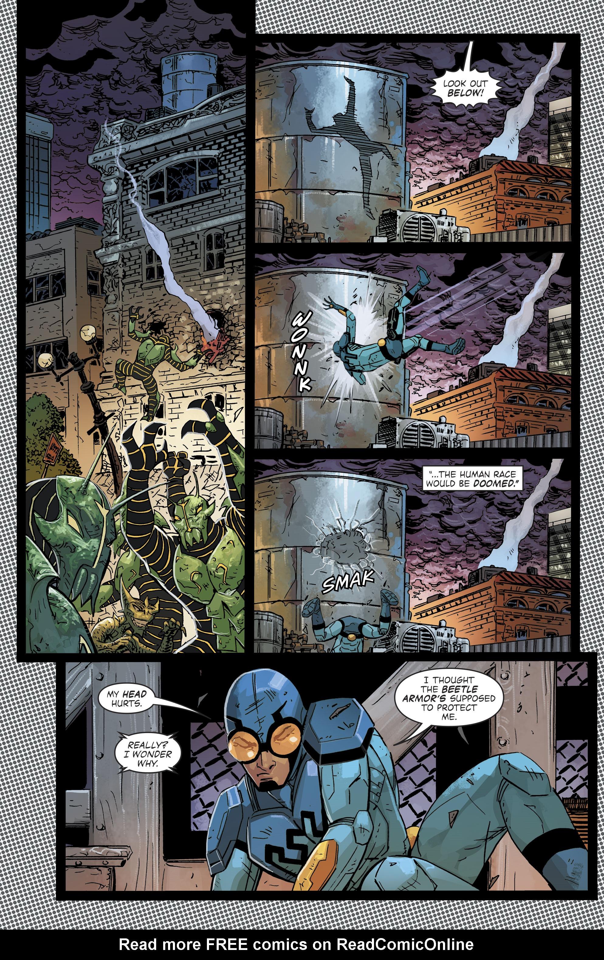 Read online Blue Beetle (2016) comic -  Issue #9 - 5