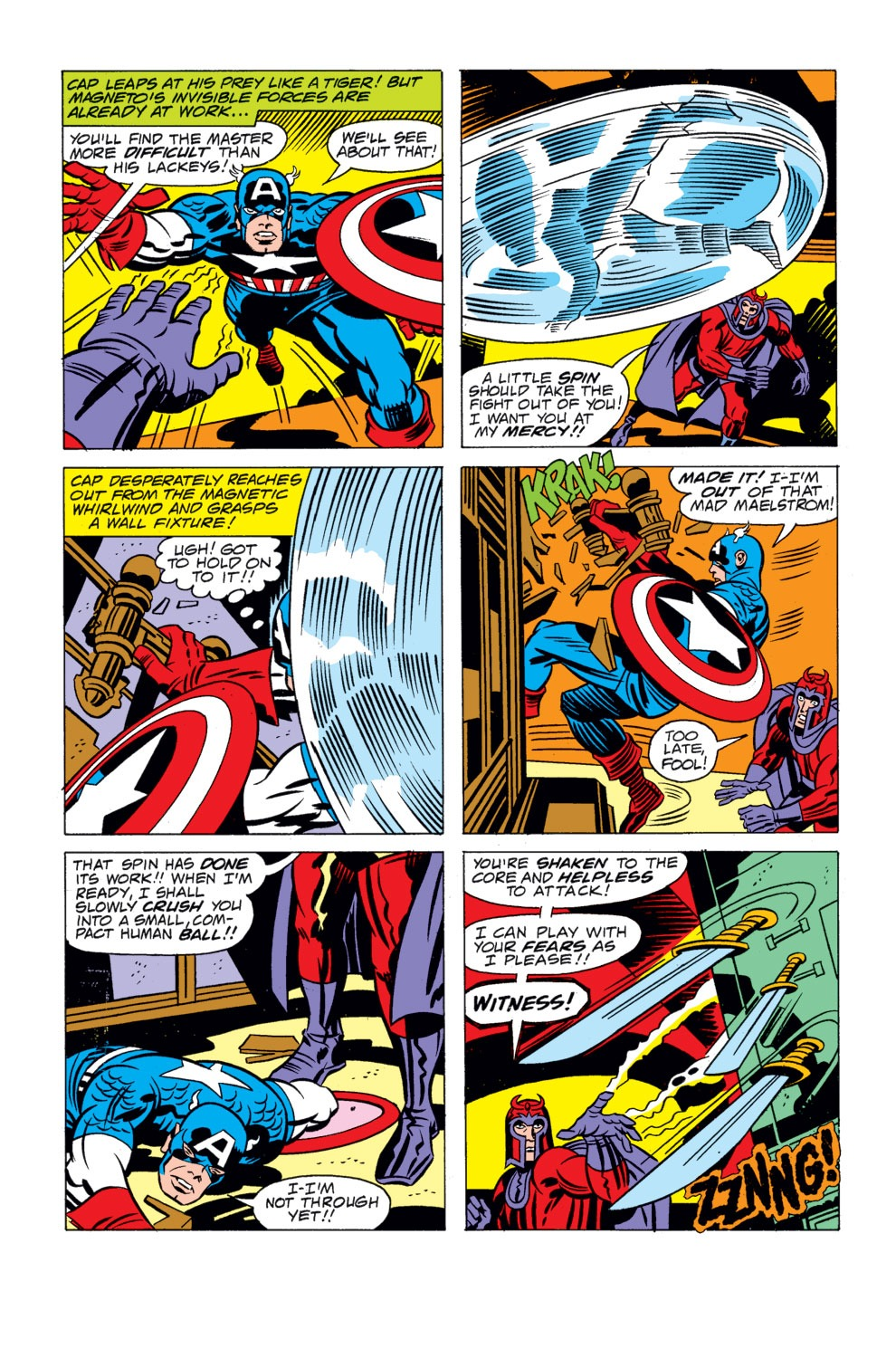 Read online Captain America (1968) comic -  Issue # _Annual 4 - 32