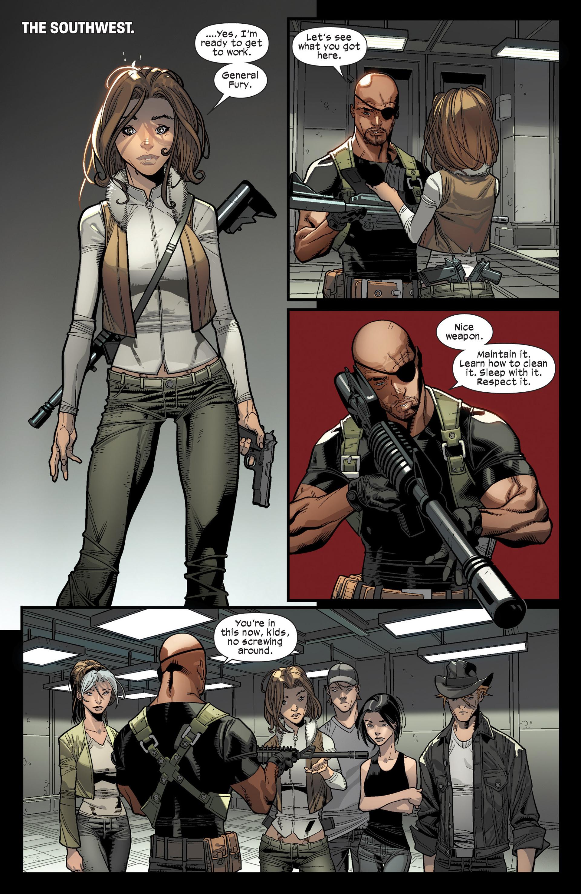 Read online Ultimate Comics X-Men comic -  Issue #16 - 4