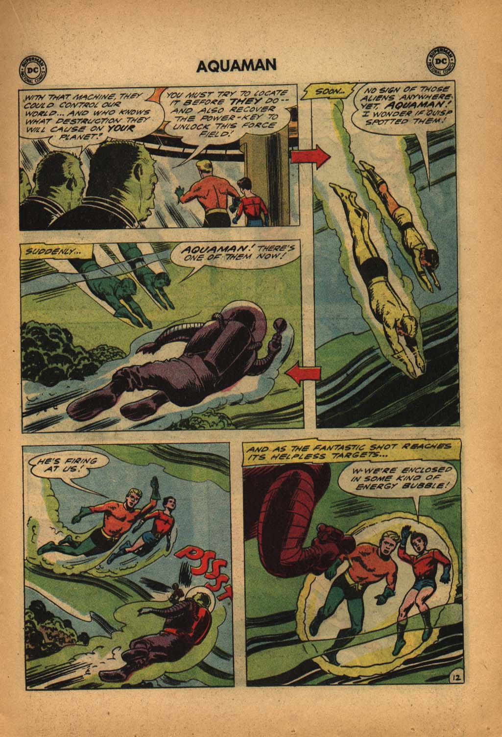 Read online Aquaman (1962) comic -  Issue #4 - 17